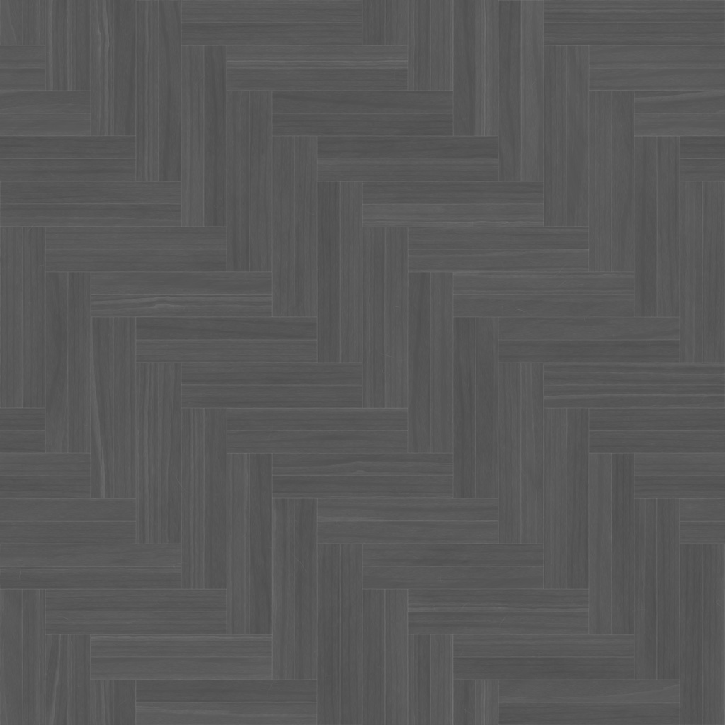 Zebrano Light Double Herringbone Roughness Texture