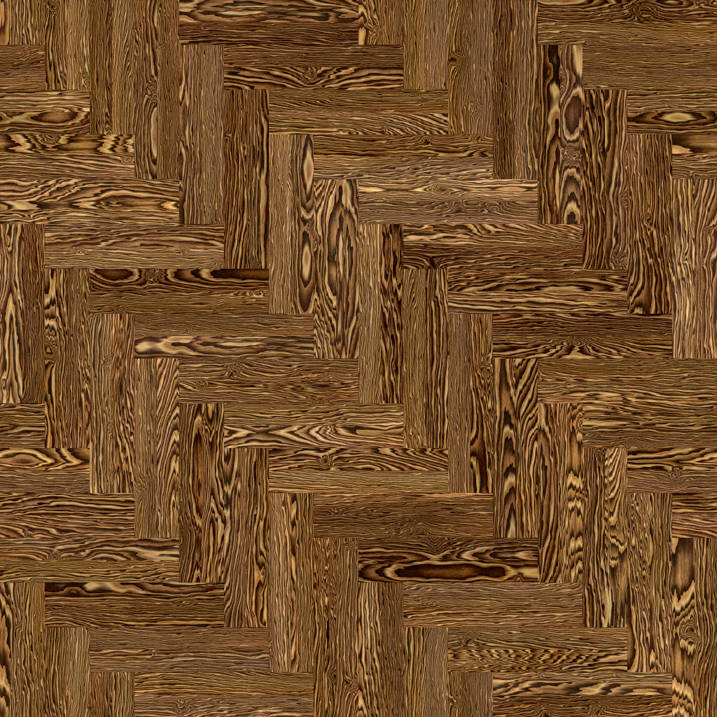 Bocote Mexican Double Herringbone BaseColor Texture