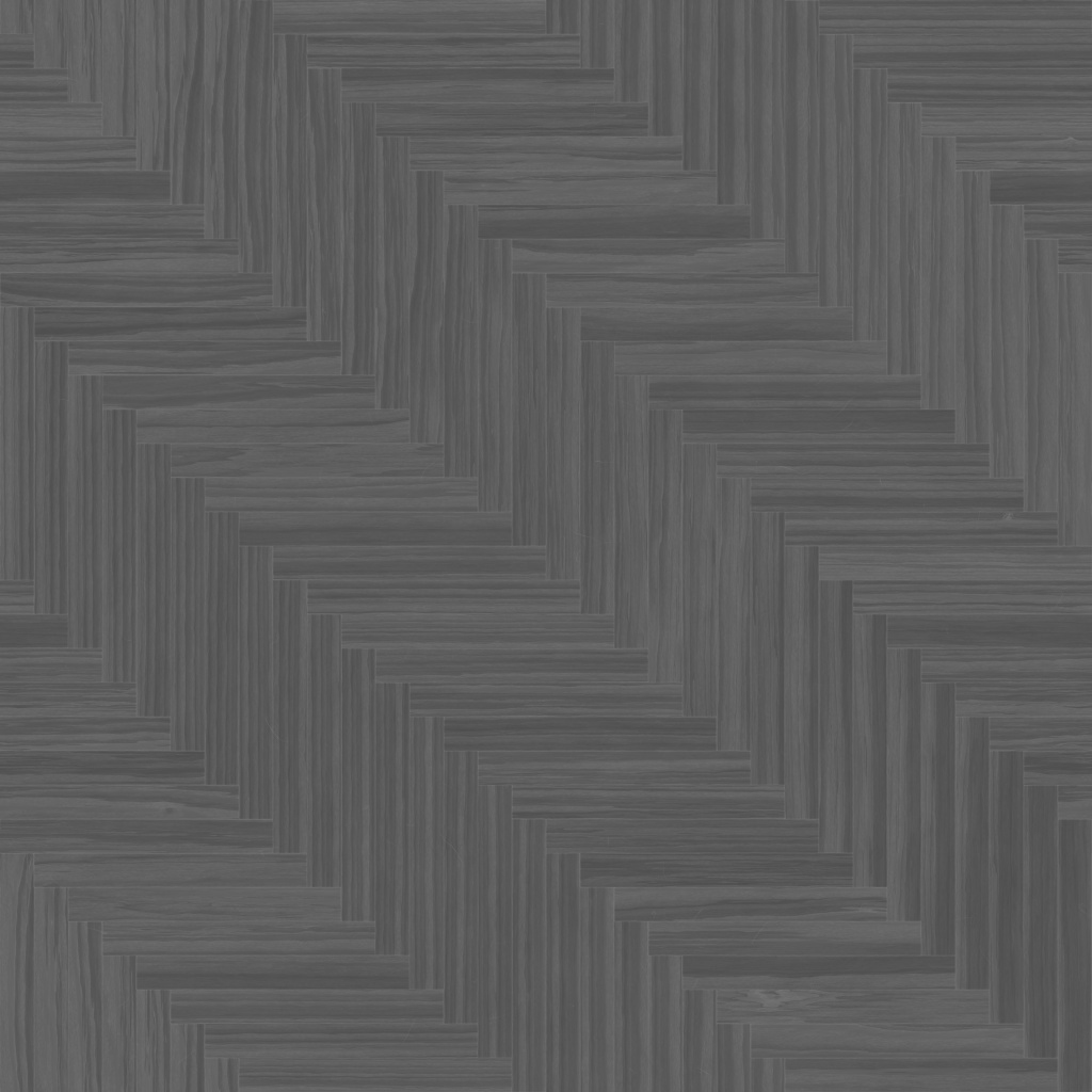 Zebrano Dark Long Herringbone Roughness Texture