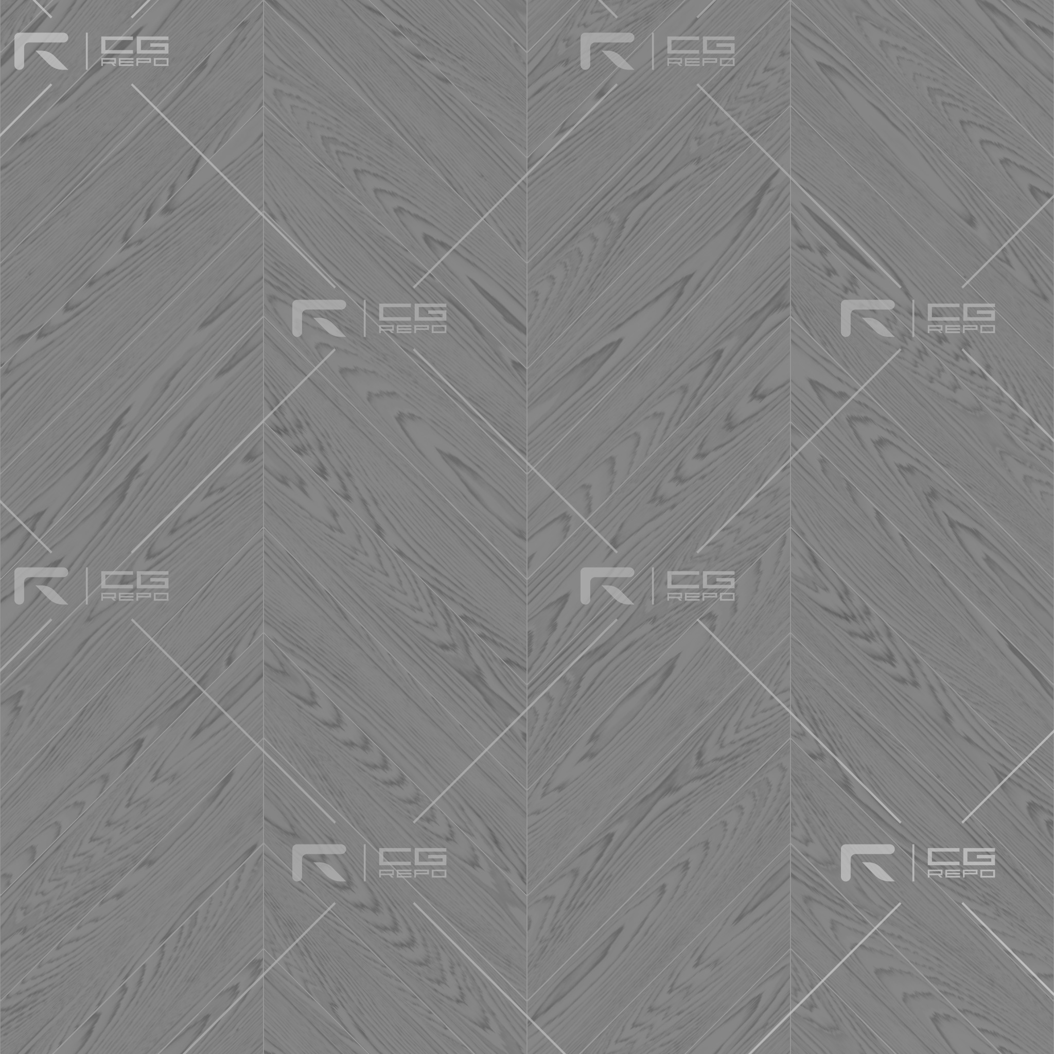 Oak American Natural Chevron Roughness Texture