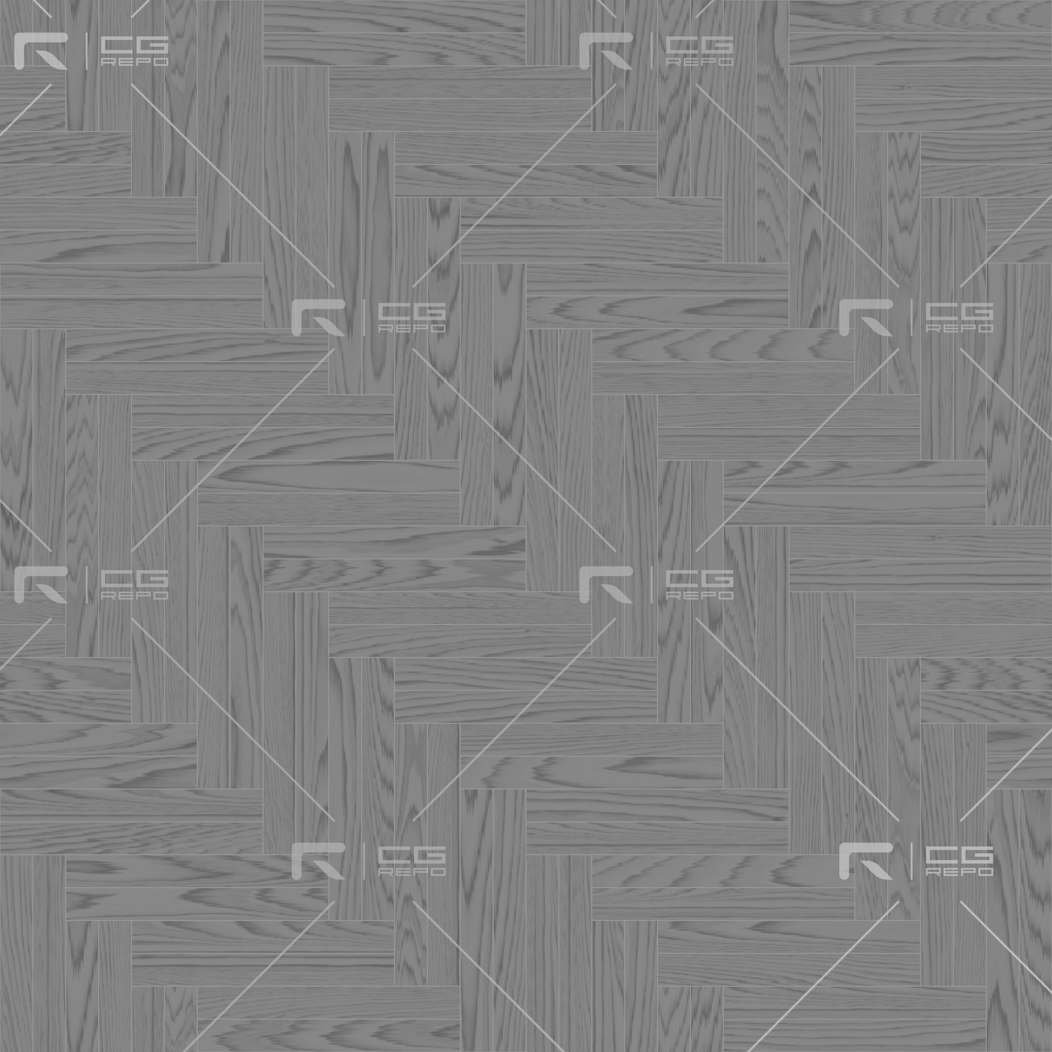 Oak American Natural Double Herringbone Roughness Texture