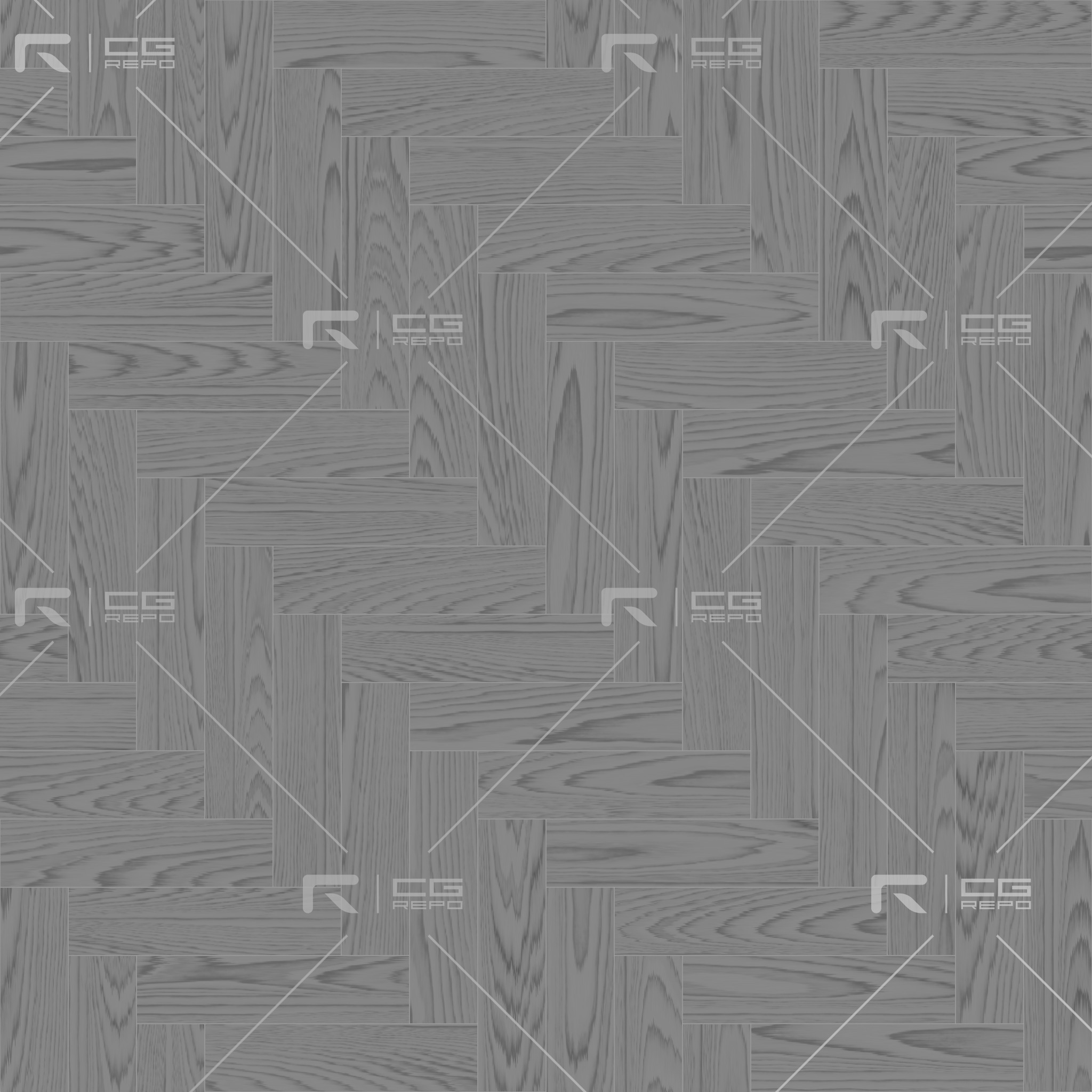 Oak American Natural Herringbone Roughness Texture