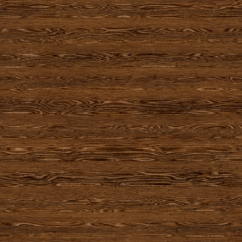 Oak Tanned Brown Panel BaseColor Texture