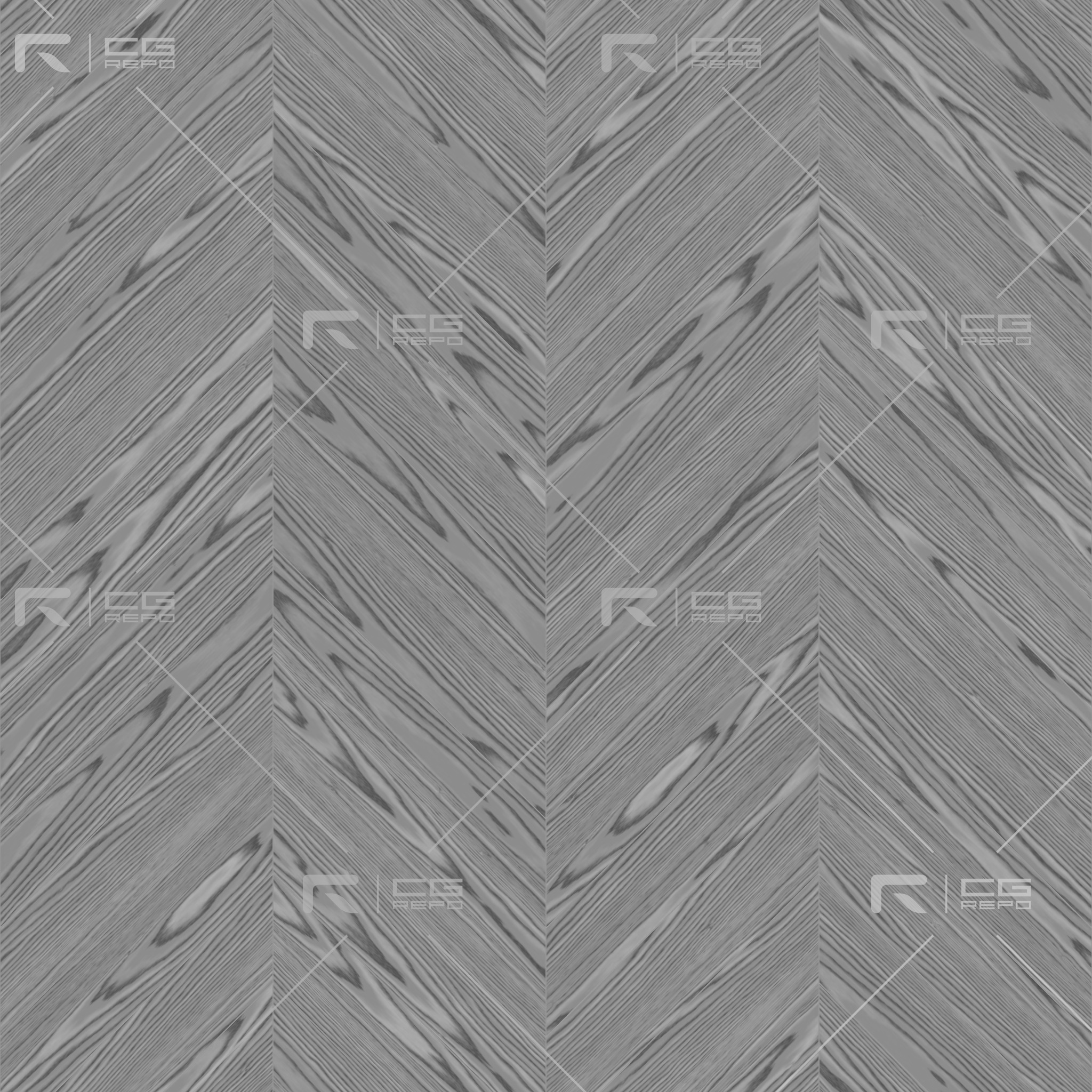 Oak English Brown Chevron Roughness Texture