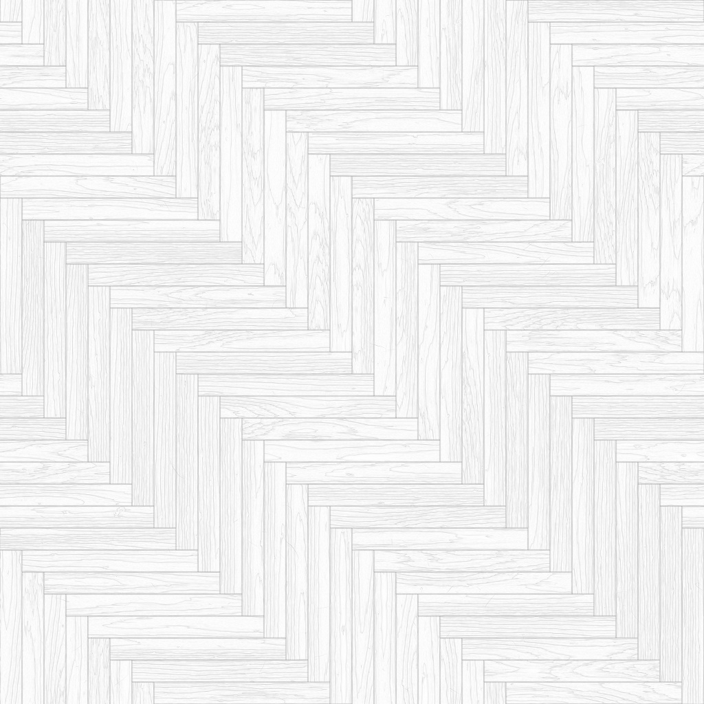 Oak European Natural Long Herringbone Ambient Occlusion Texture