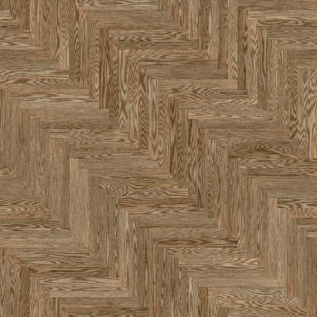 Oak European Natural Long Herringbone BaseColor Texture