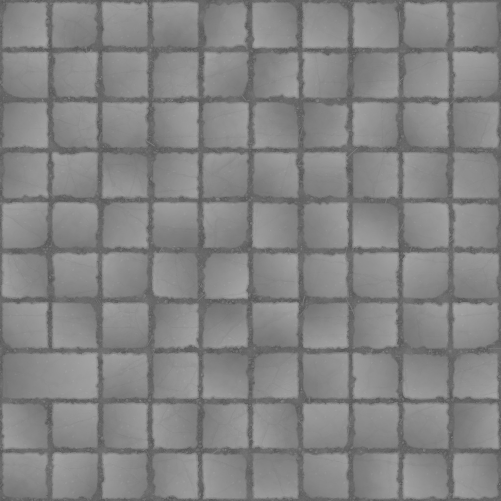 Squares Stone Ground Height Texture