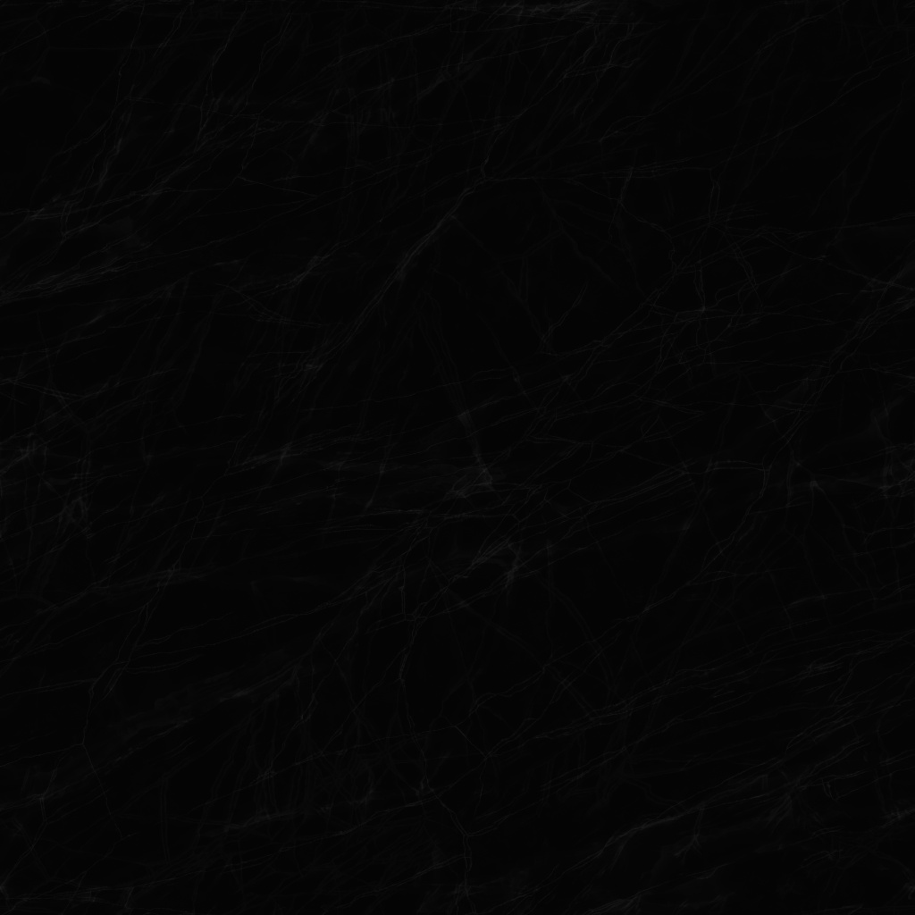 Marquina Black Polished Marble Roughness Texture