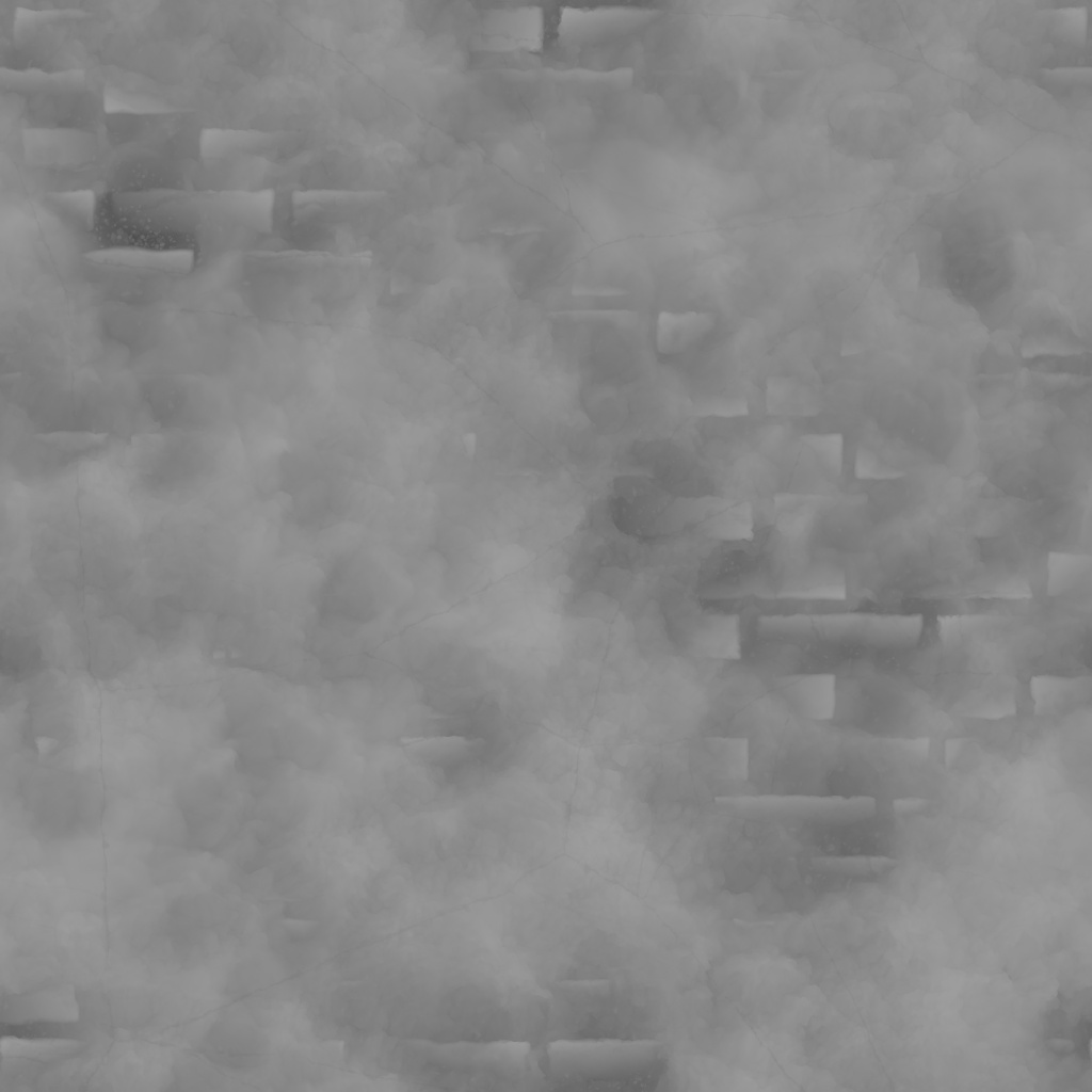 Bricks And Concrete Height Texture