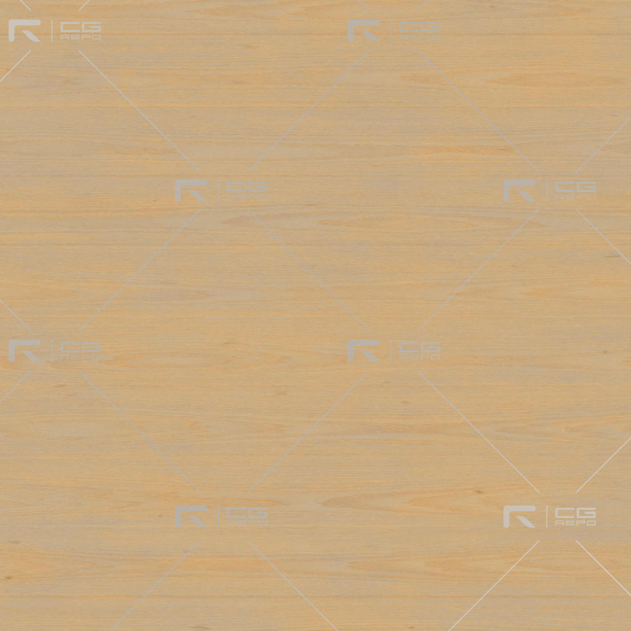 Birch - PlyWood - Cathedral Shape (Crown) BaseColor Texture