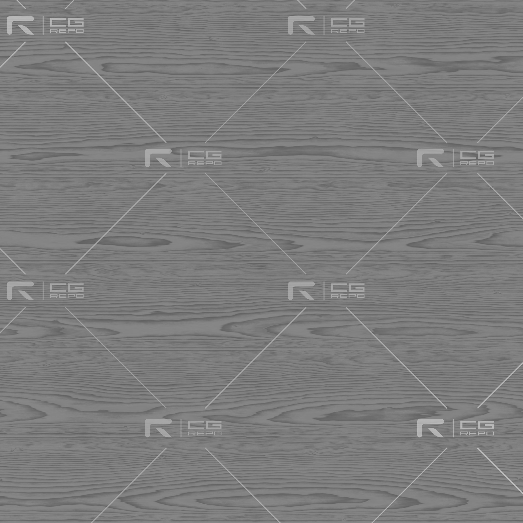 Douglas Fir - Cathedral Shape (Crown) Roughness Texture