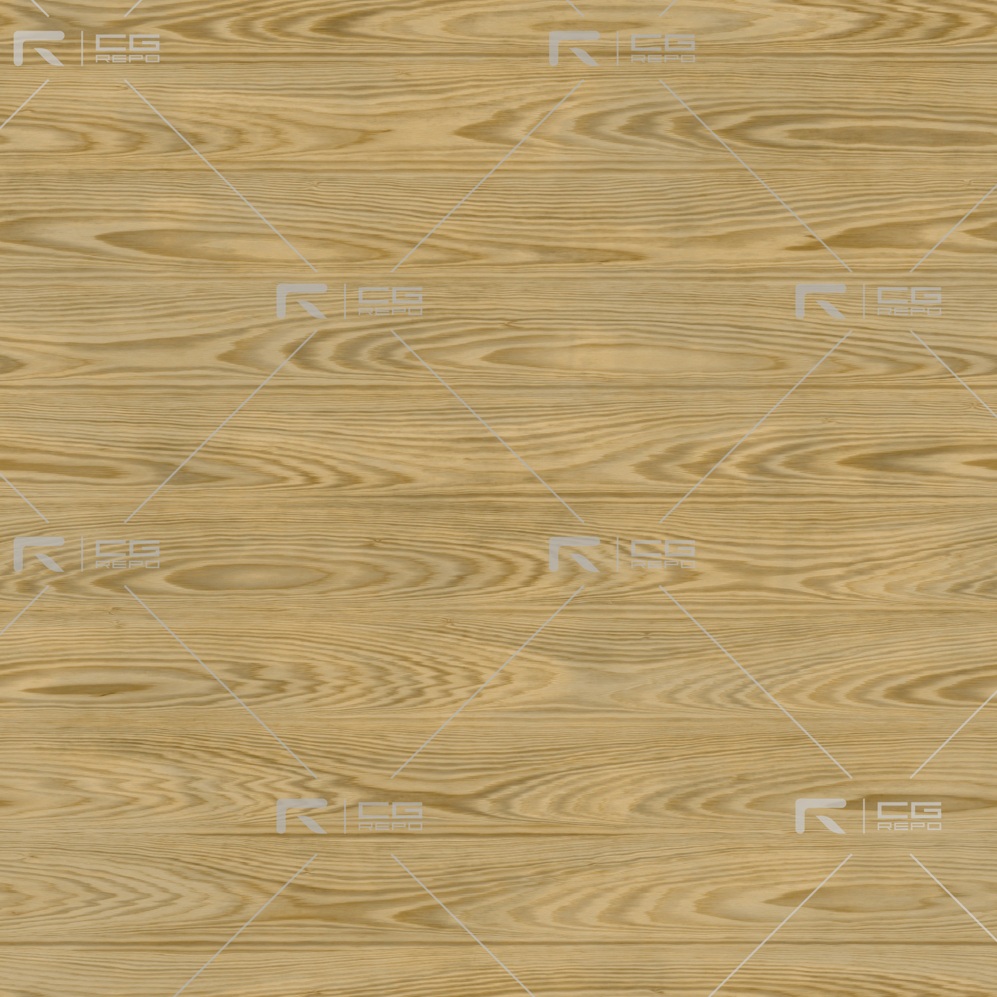Oak - Champagne - Cathedral Shape BaseColor Texture