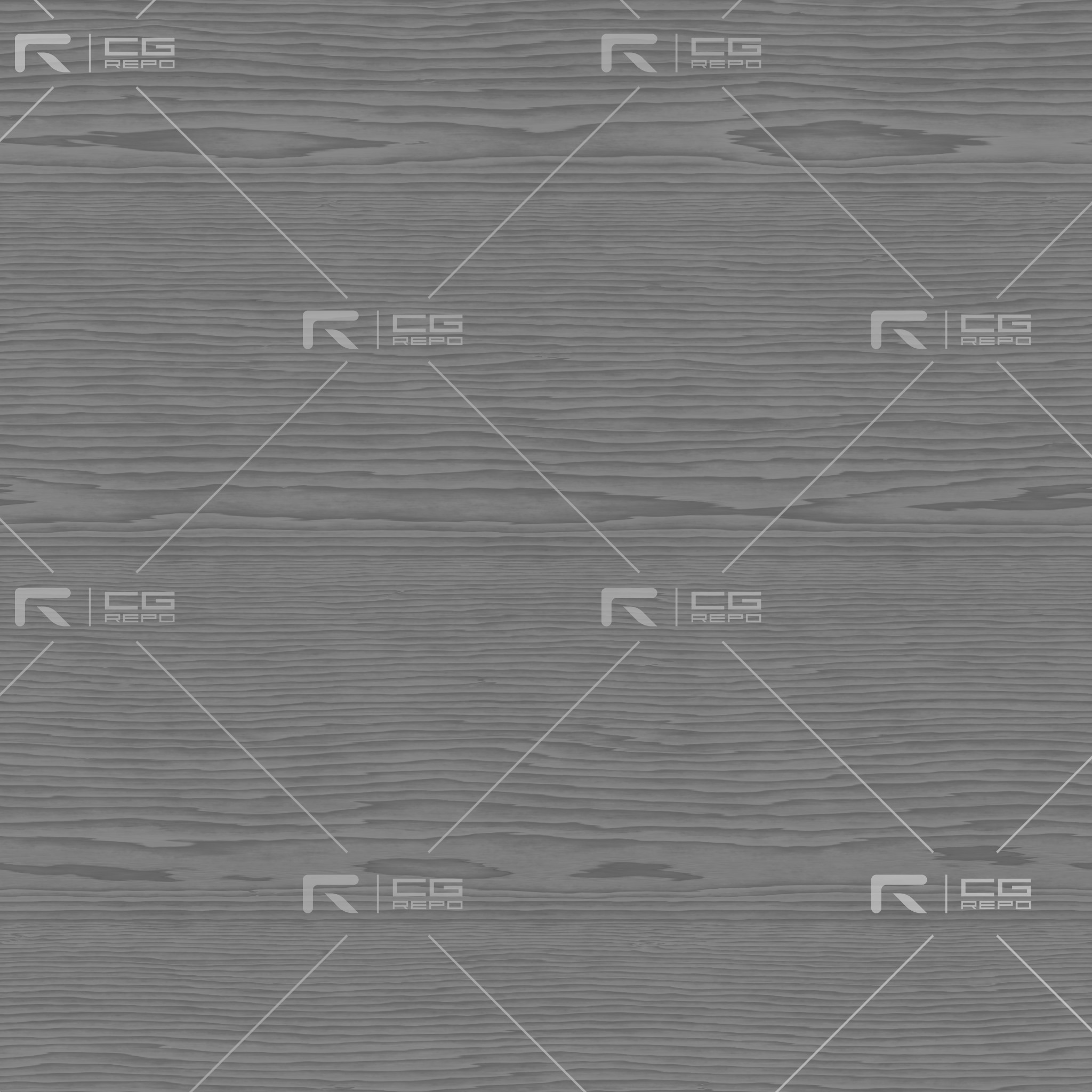 Oak - Coffee - Rift Sawn Roughness Texture