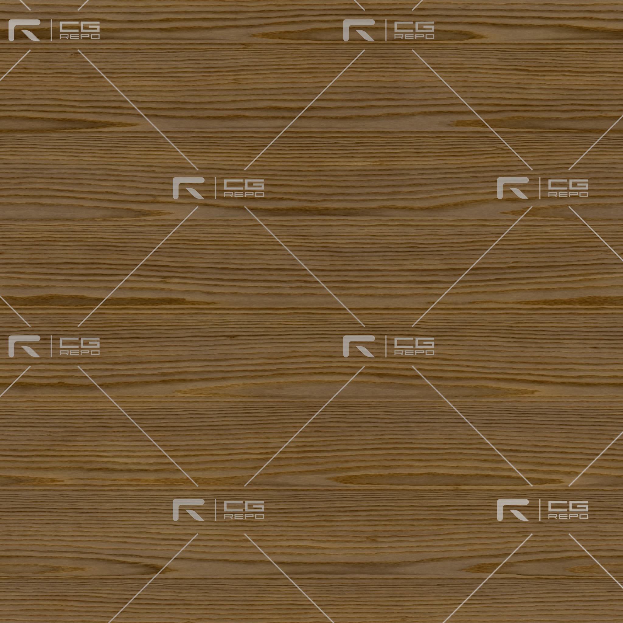 Oak - HardWood Natural - Rift BaseColor Texture