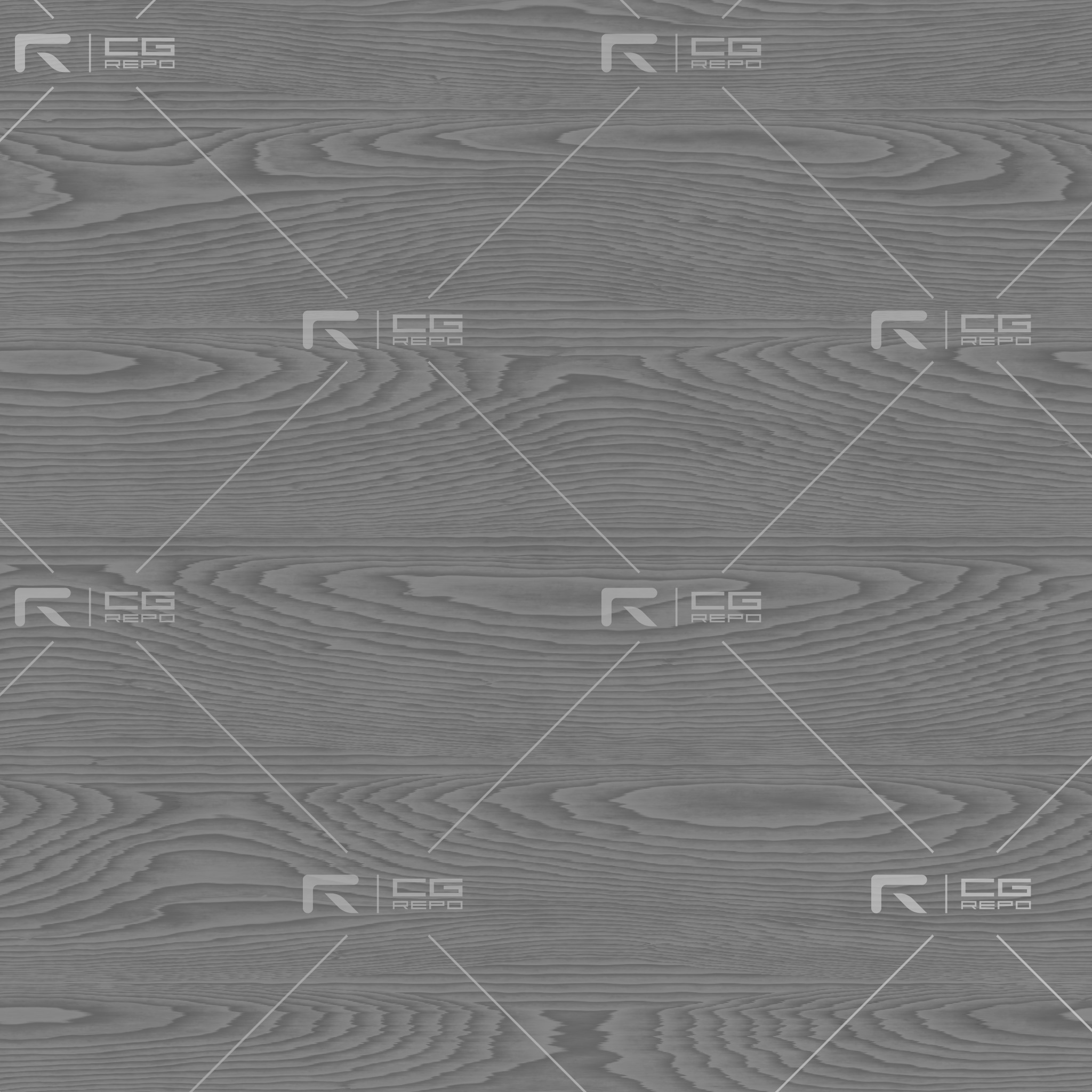 Oak - Natural - Flat Roughness Texture