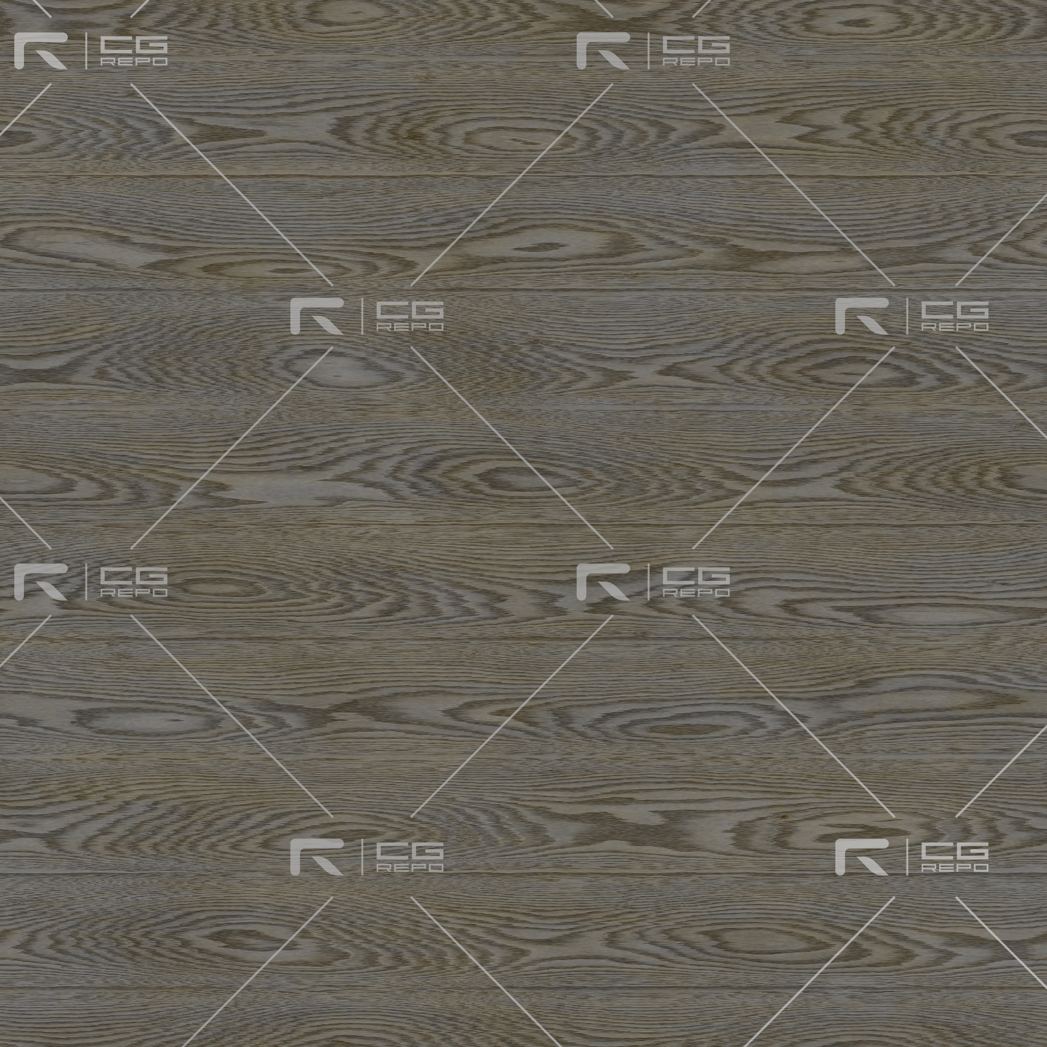 Oak - Painted Grunge Grey - Cathedral Shape BaseColor Texture