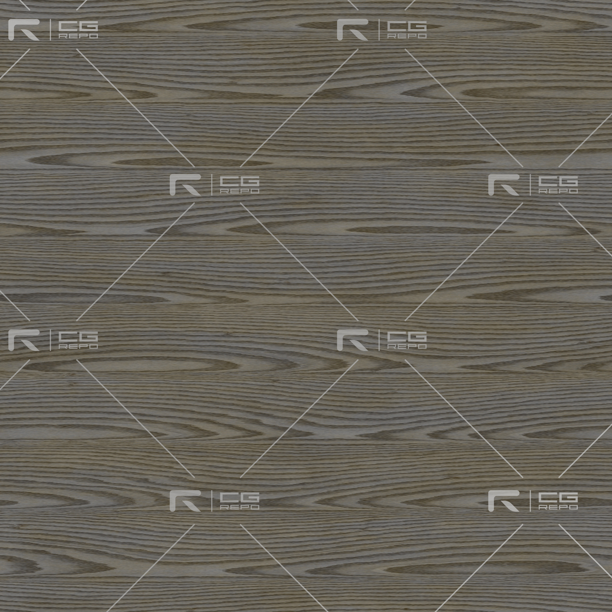 Oak - Painted Grunge Grey - Rift Sawn BaseColor Texture