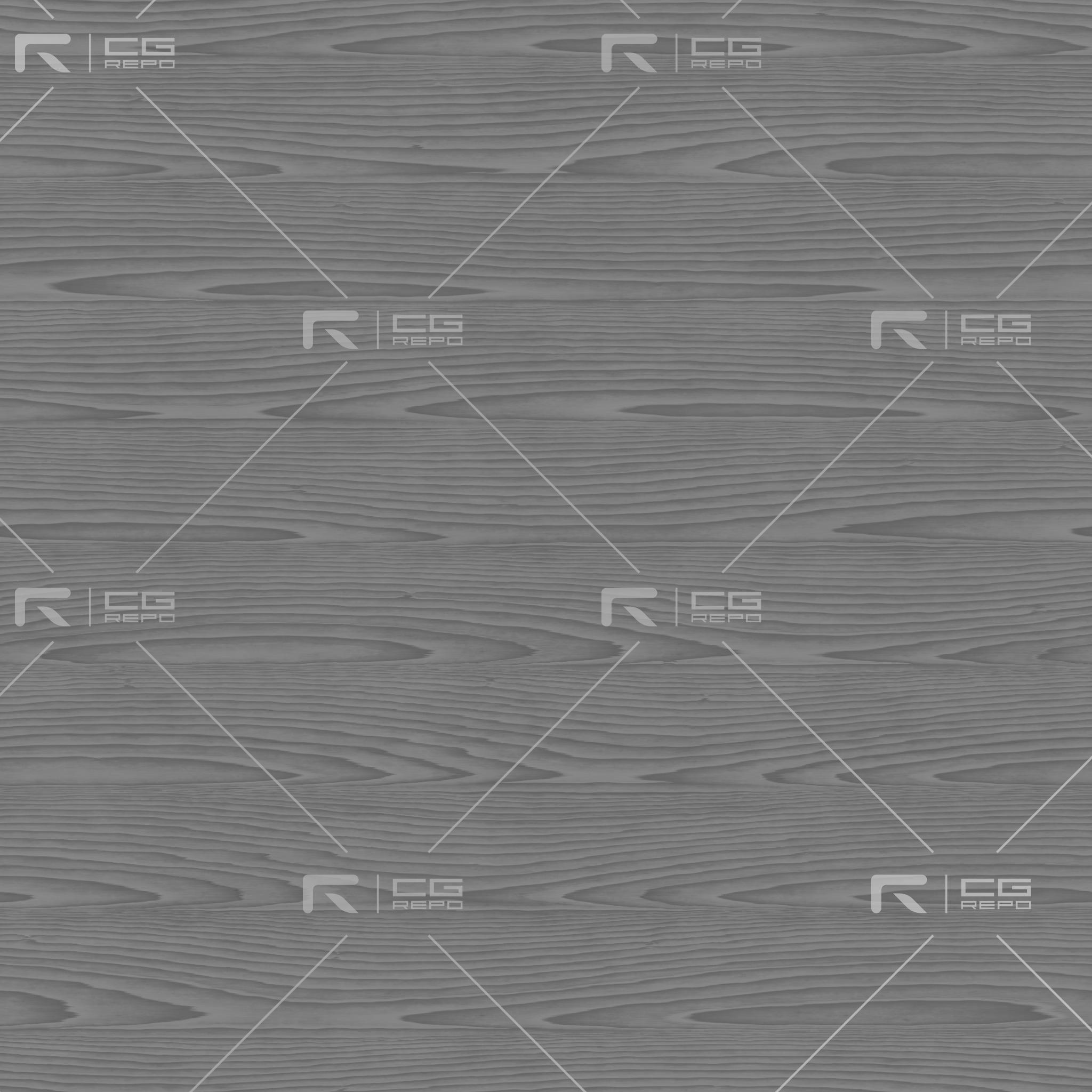 Oak - Painted Grunge Grey - Rift Sawn Roughness Texture