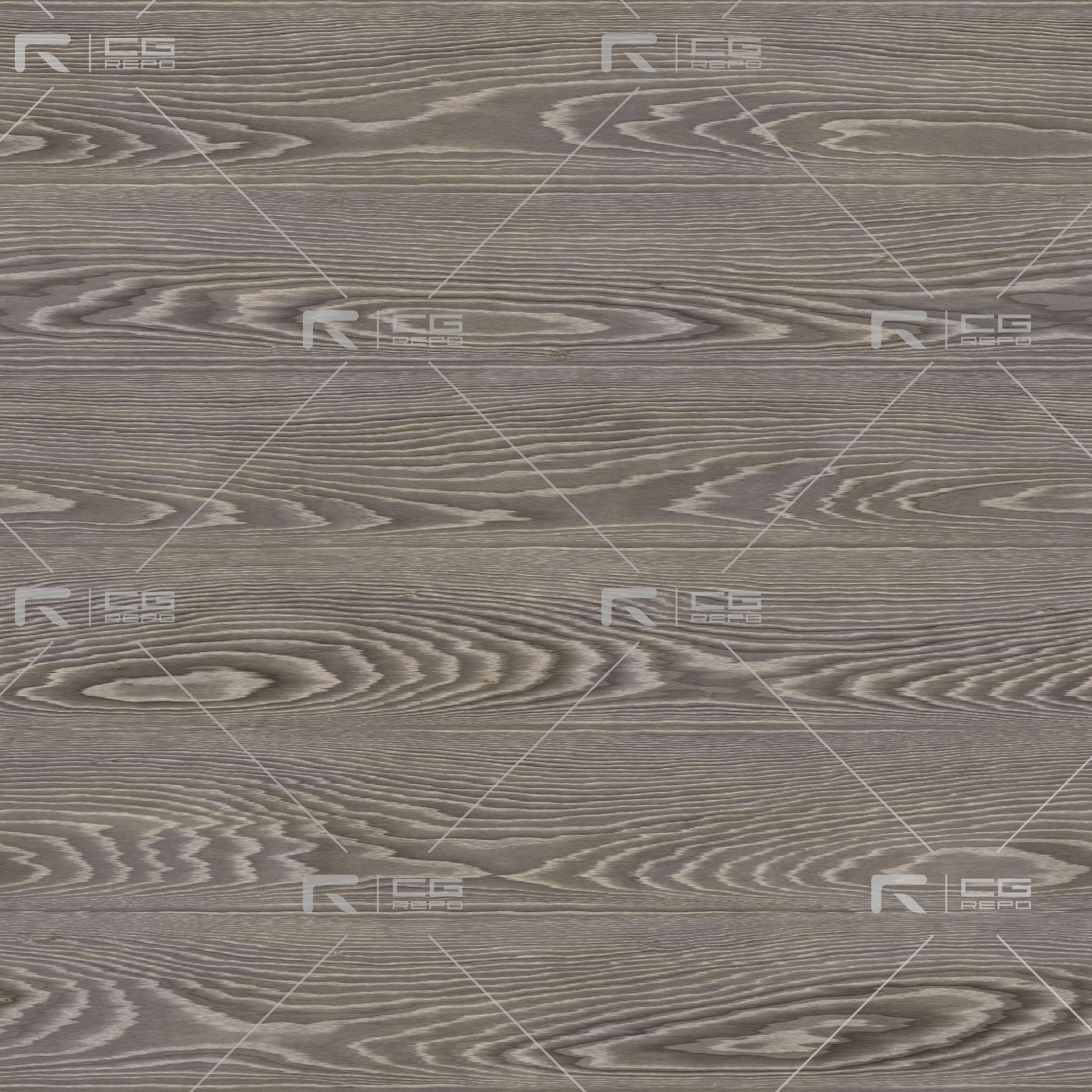 Oak - Smoked Grey - Cathedral Shape BaseColor Texture