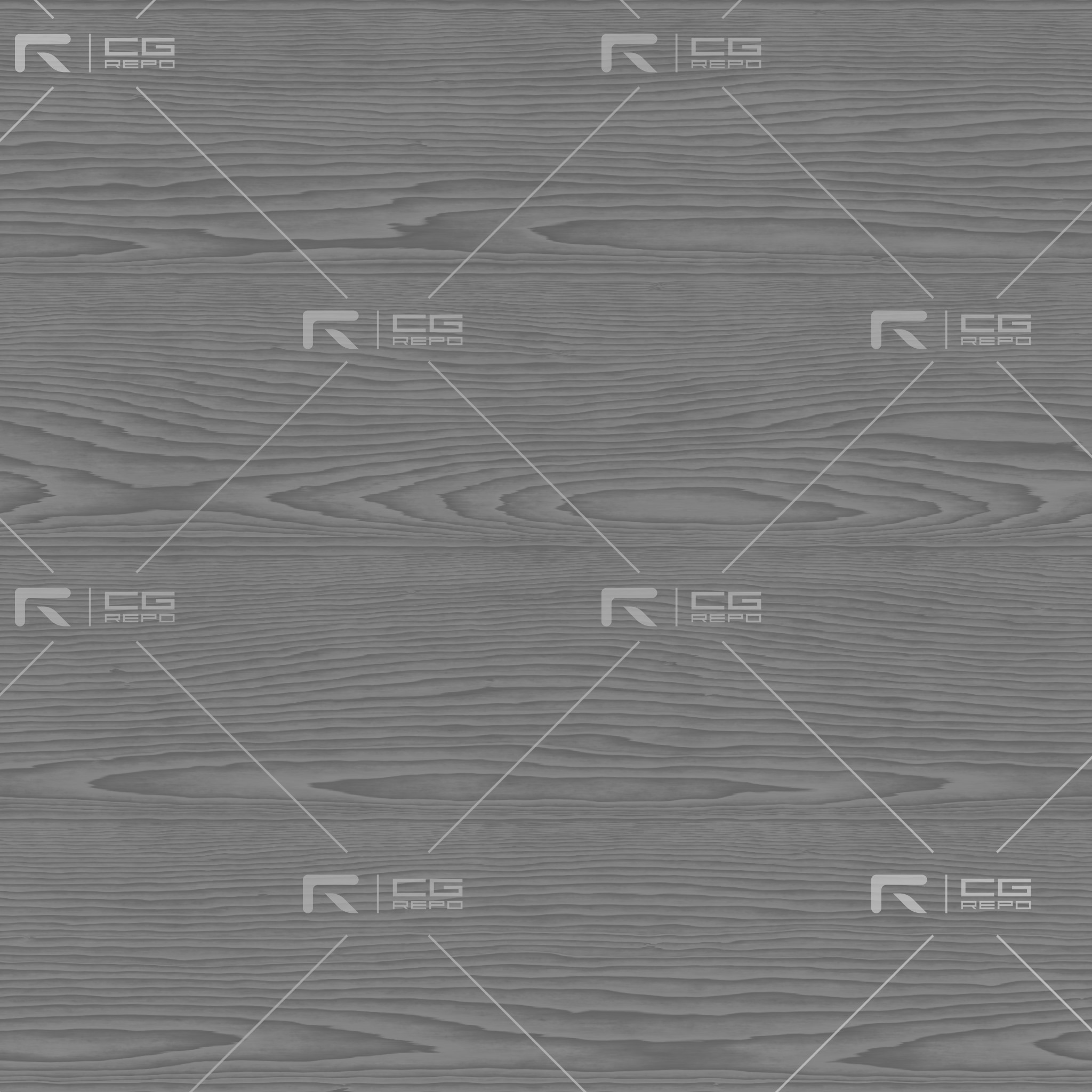 Oak - White Washed - Flat Roughness Texture