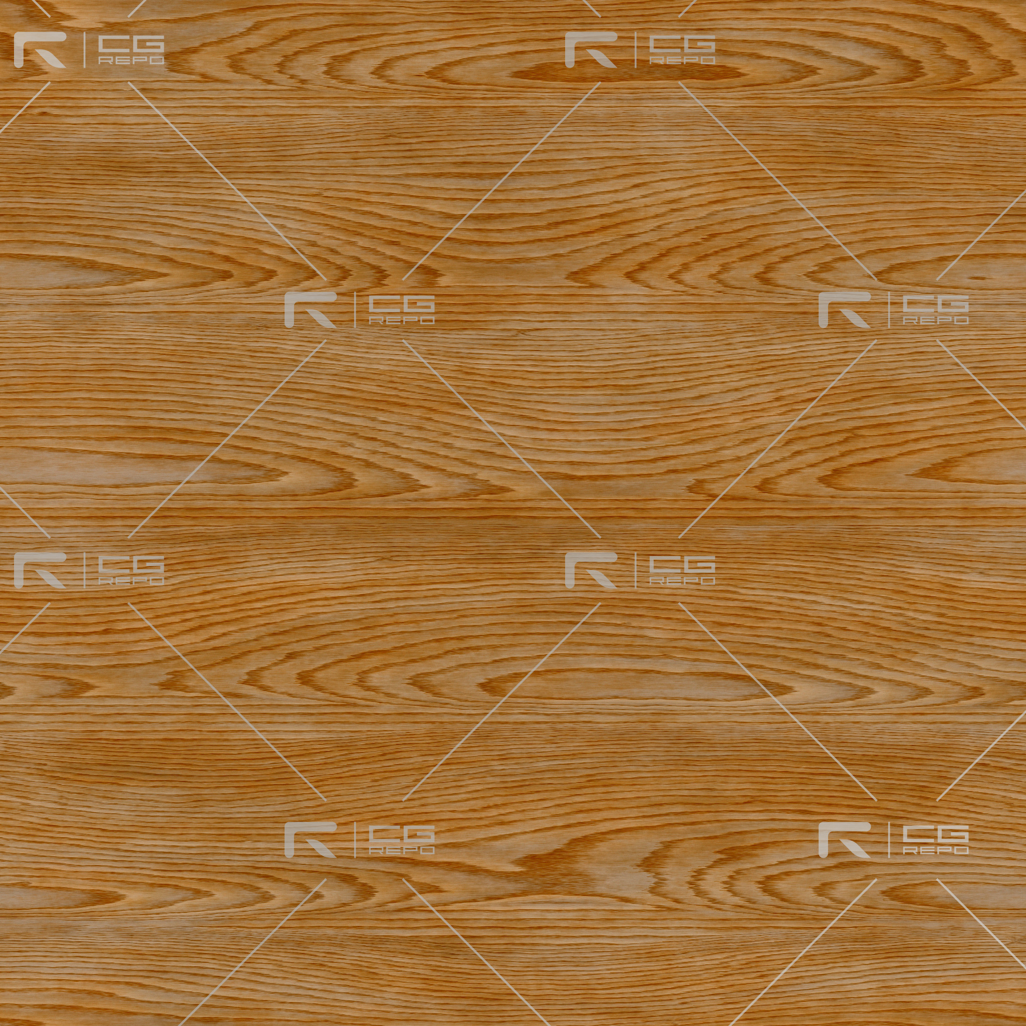 Red Oak - Flat Sawn BaseColor Texture