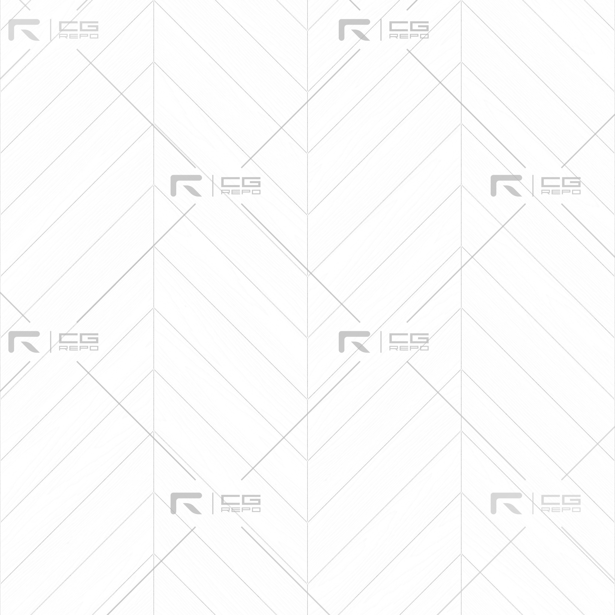 Oak English Dark Chevron Ambient Occlusion Texture