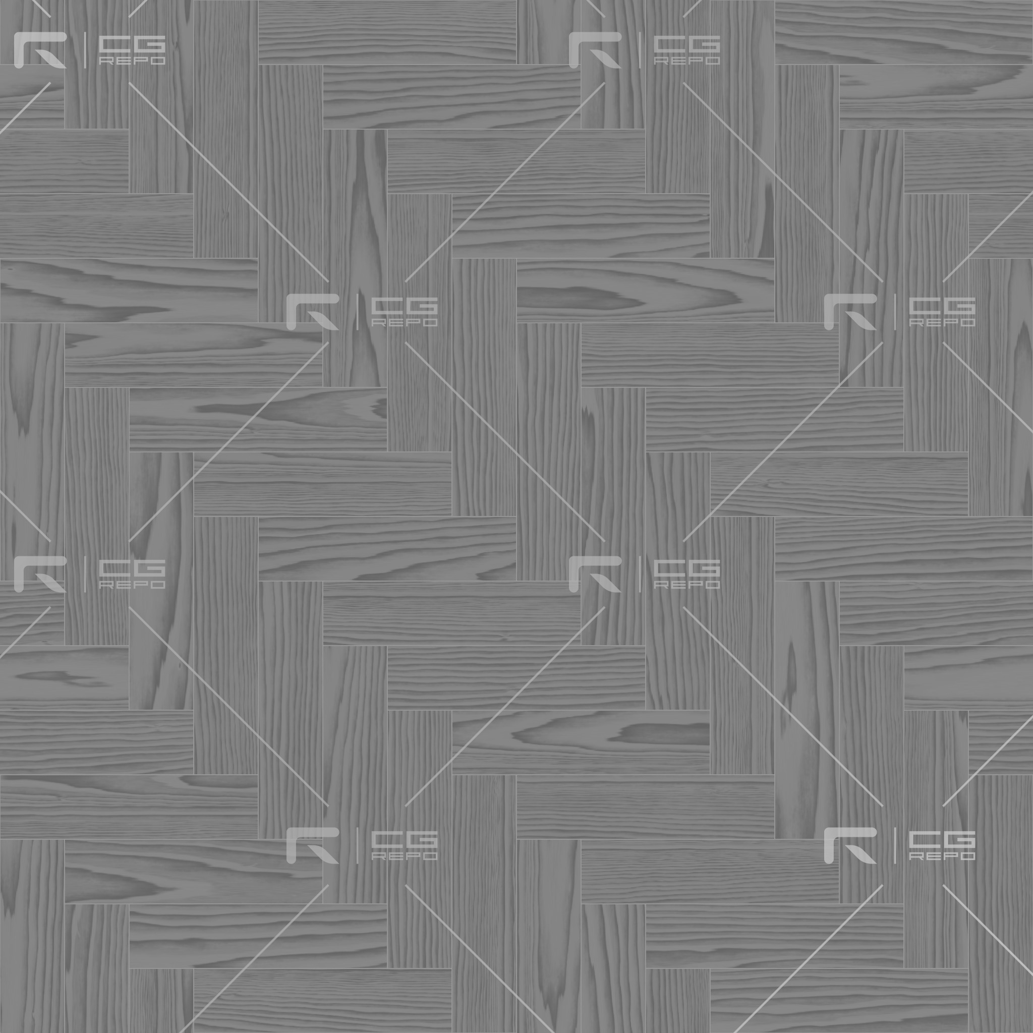 Oak English Dark Herringbone Roughness Texture