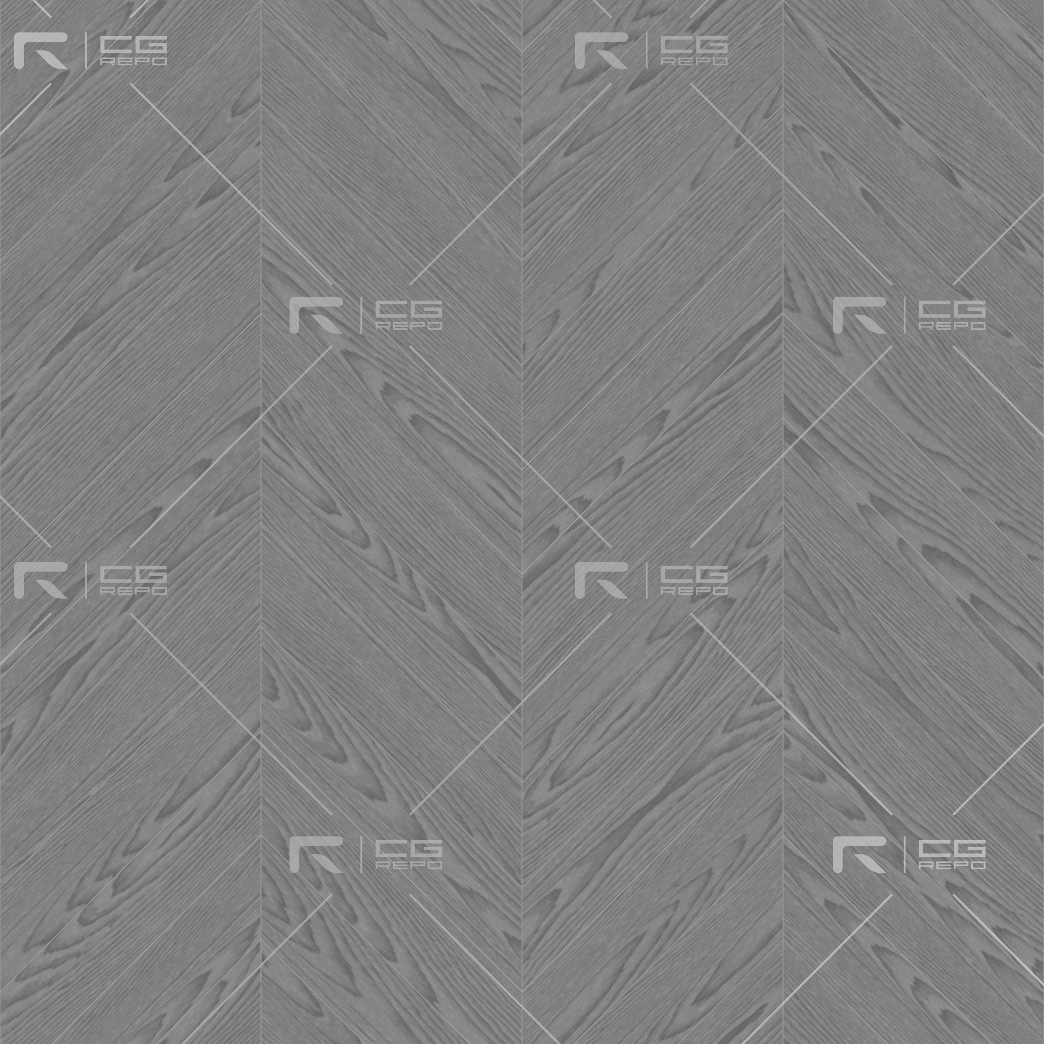 Oak European Light Ash Chevron Roughness Texture