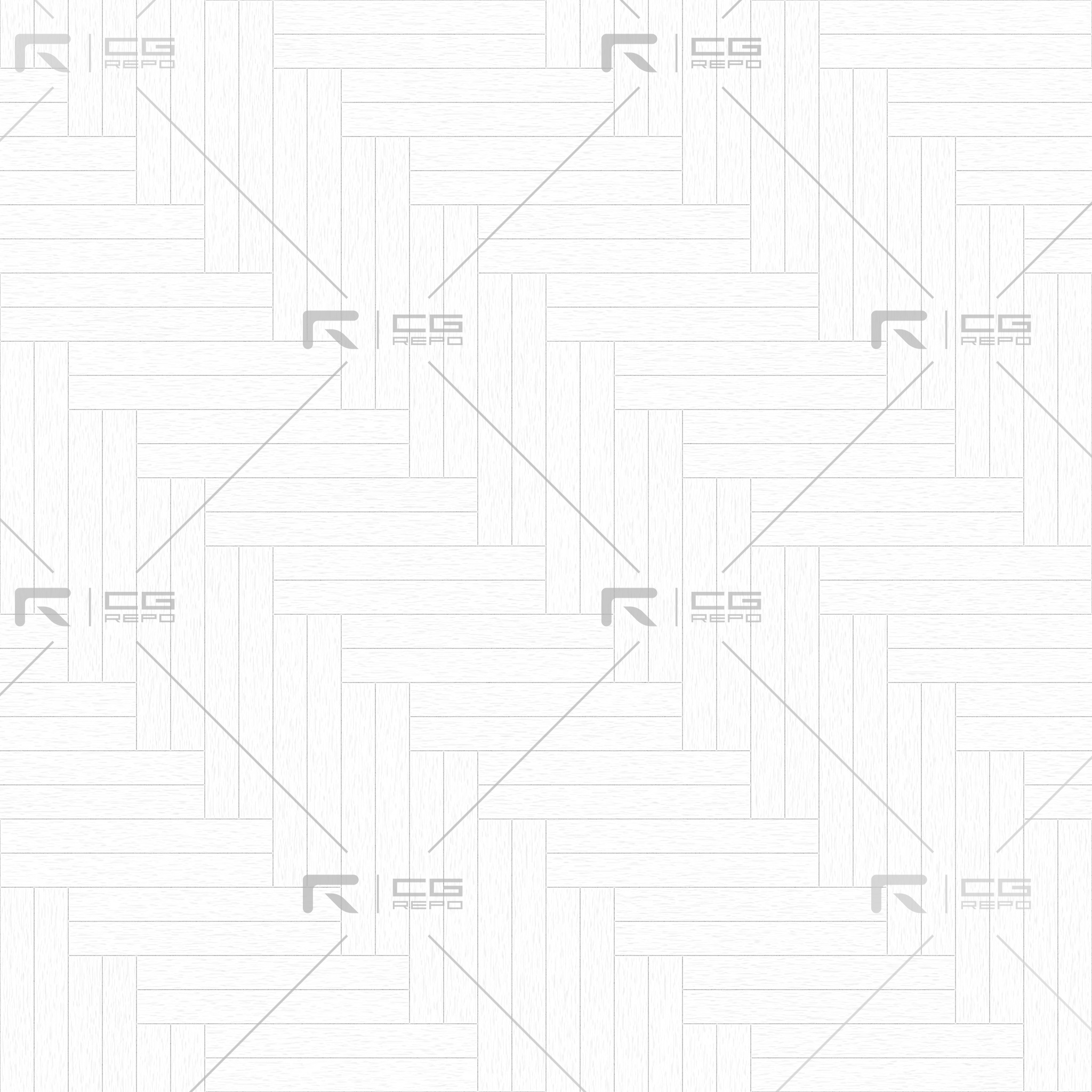 Oak European Light Ash Double Herringbone Ambient Occlusion Texture
