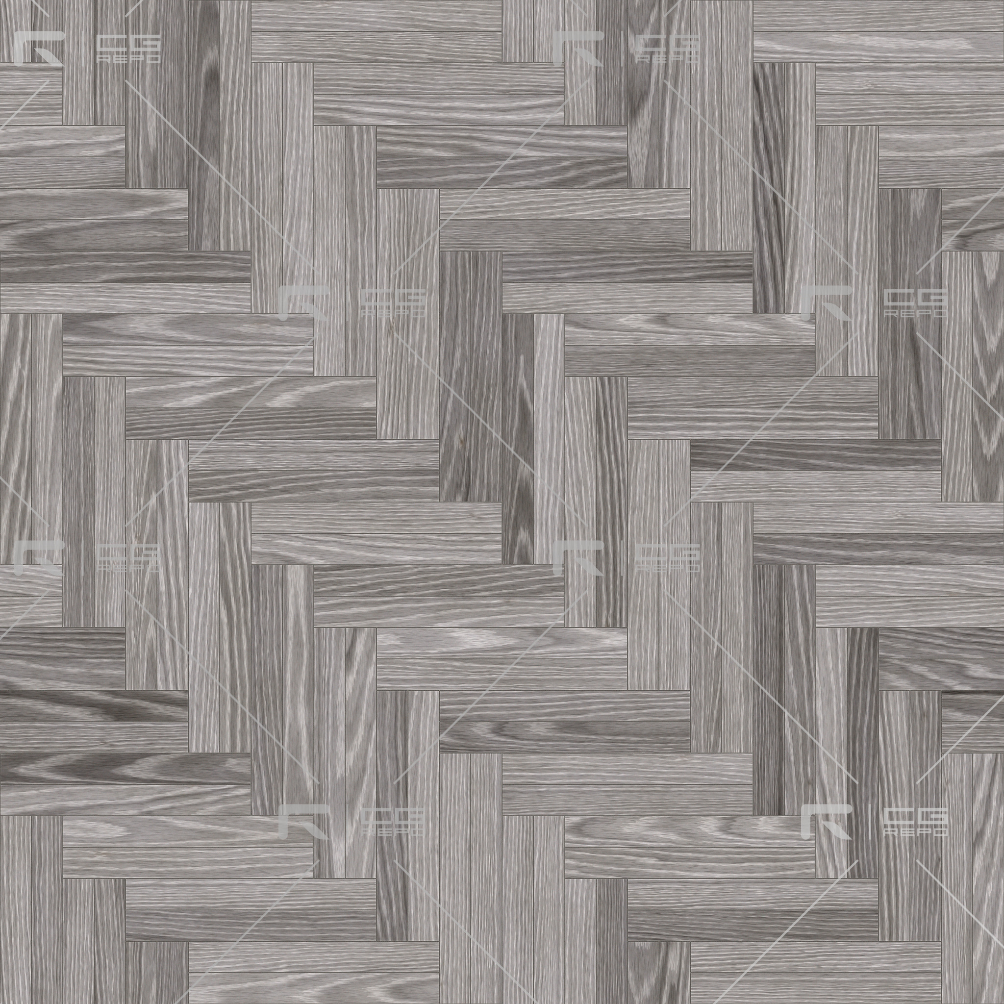 Oak European Light Ash Double Herringbone BaseColor Texture