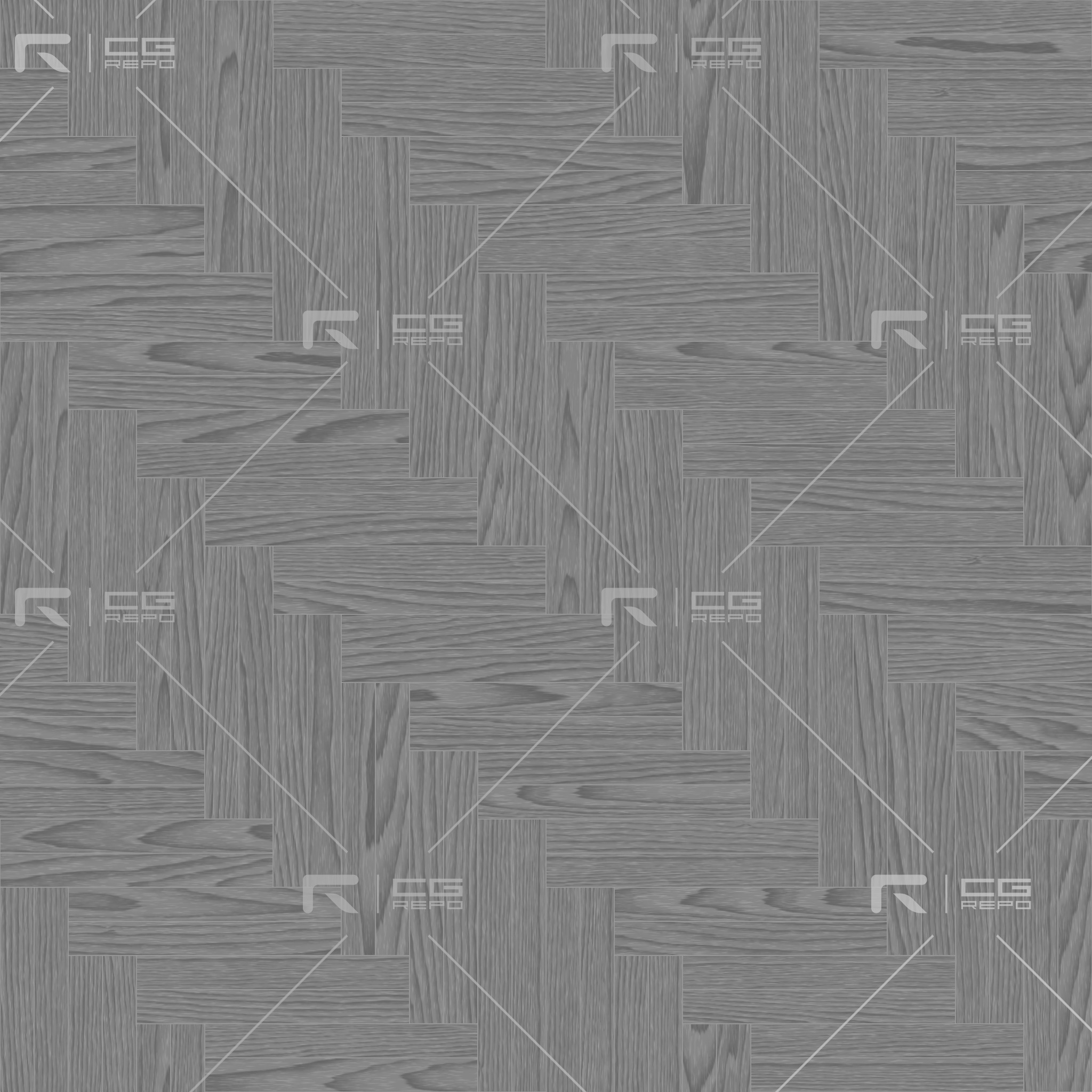 Oak European Light Ash Double Herringbone Roughness Texture
