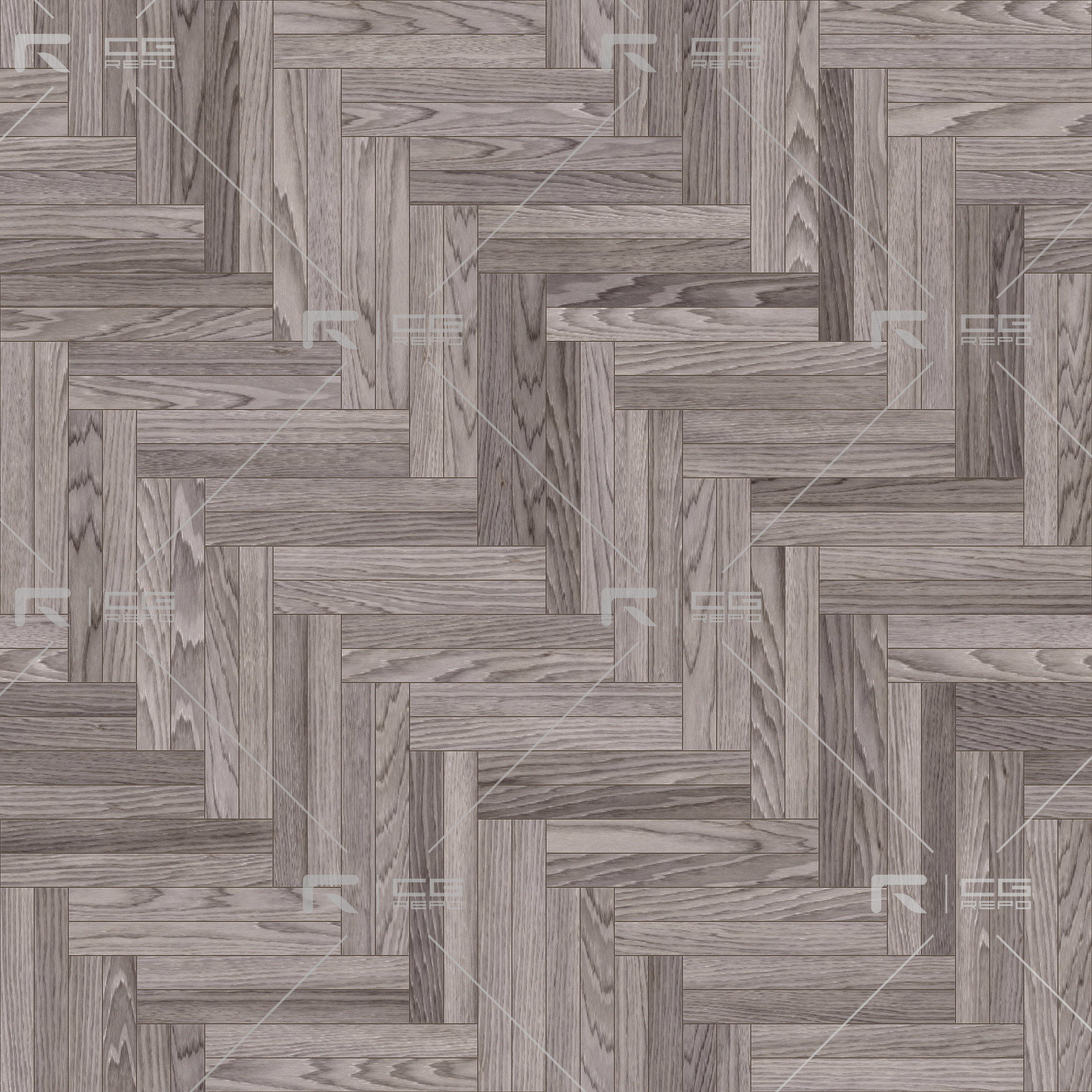 Oak Light Smoked Double Herringbone BaseColor Texture