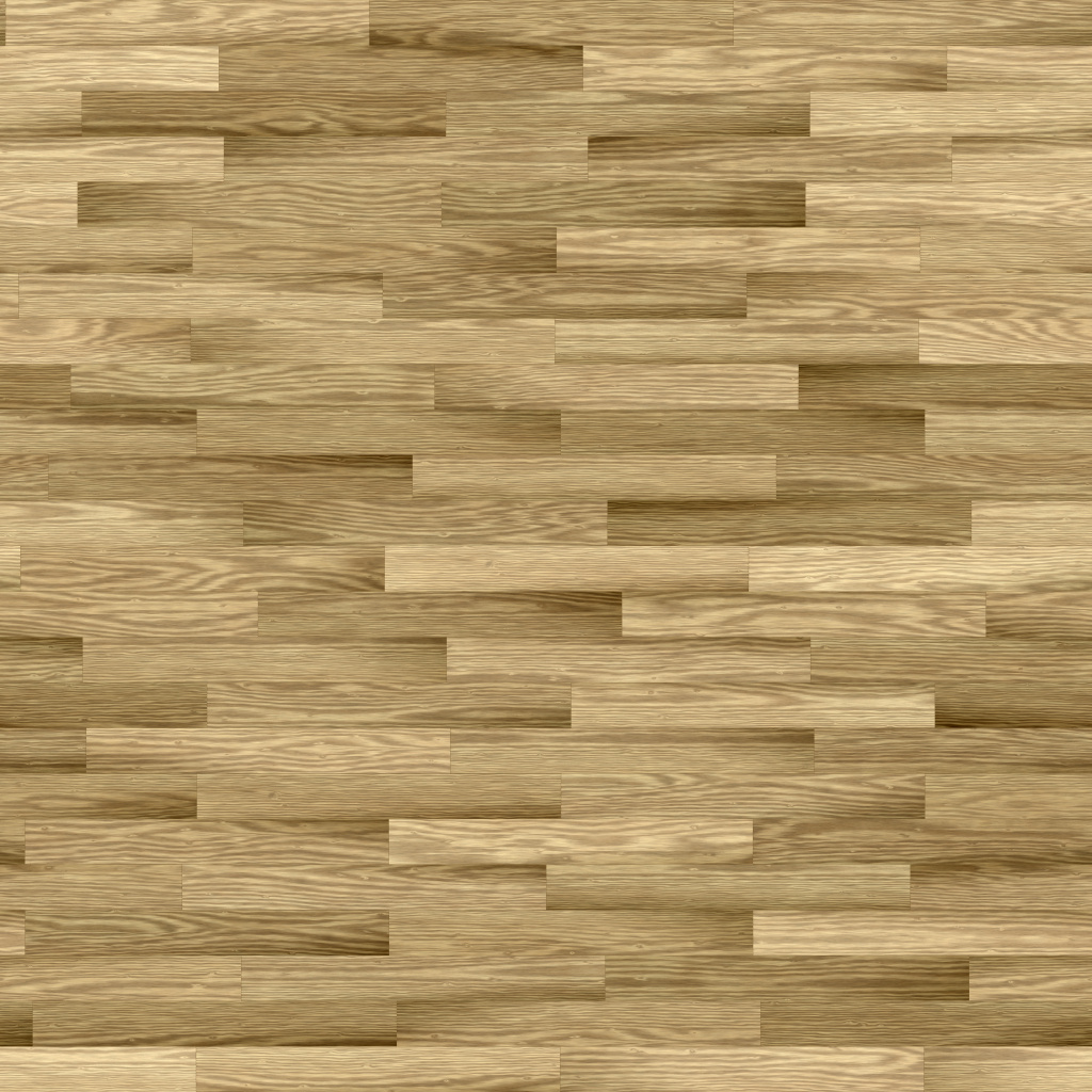 Oak Natural Yellowish Long Running Bond BaseColor Texture
