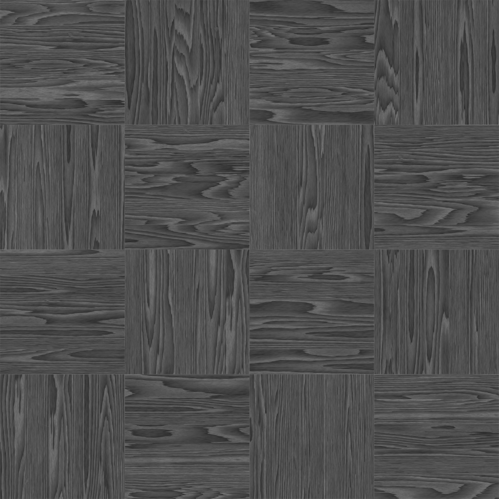 Walnut European Dark Basket Roughness Texture