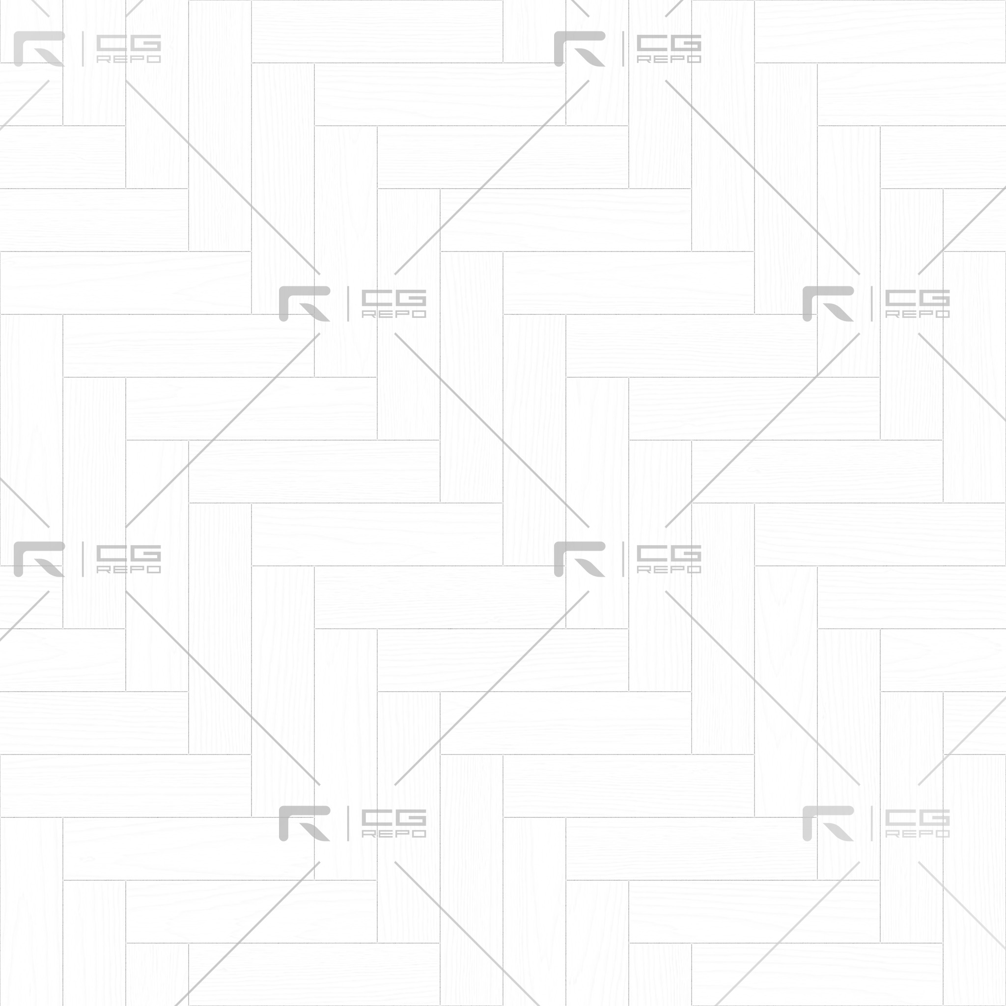 Walnut European Dark Herringbone Ambient Occlusion Texture