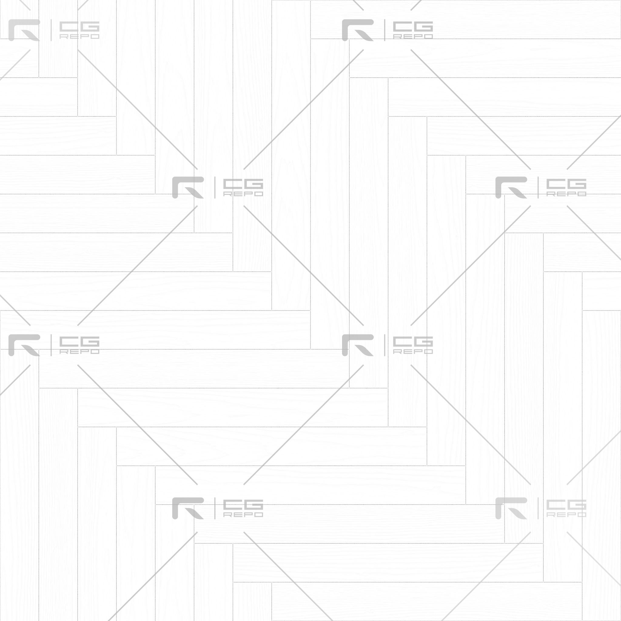 Walnut European Dark Long Herringbone Ambient Occlusion Texture