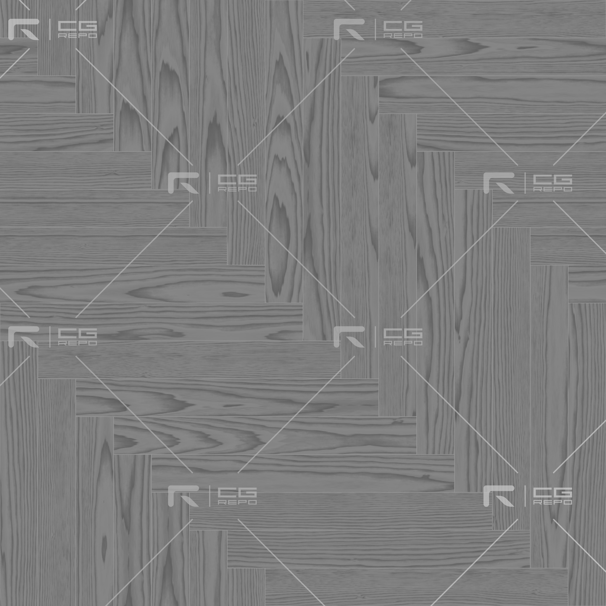 Walnut European Dark Long Herringbone Roughness Texture