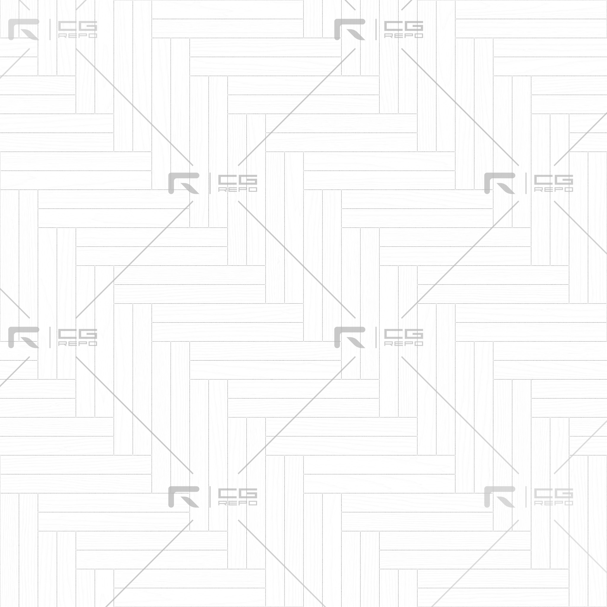 Walnut European Natural Double Herringbone Ambient Occlusion Texture