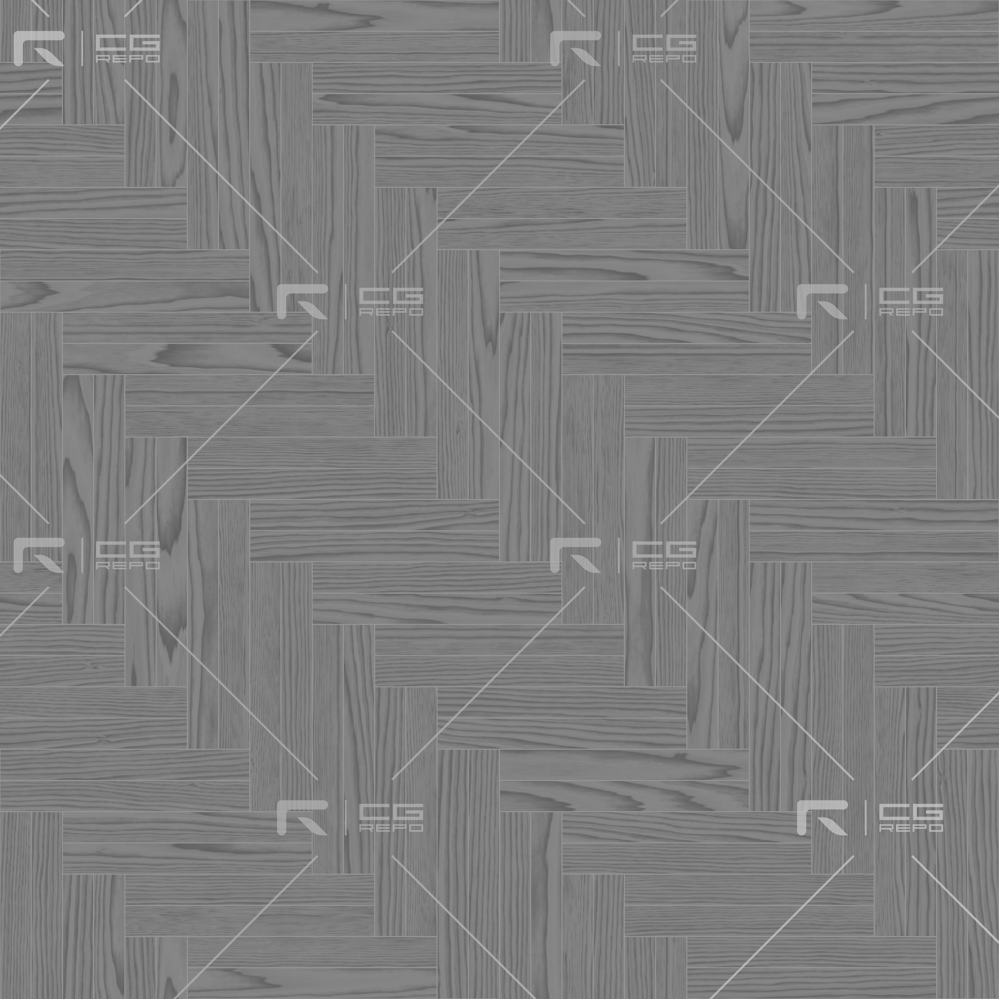 Walnut European Natural Double Herringbone Roughness Texture