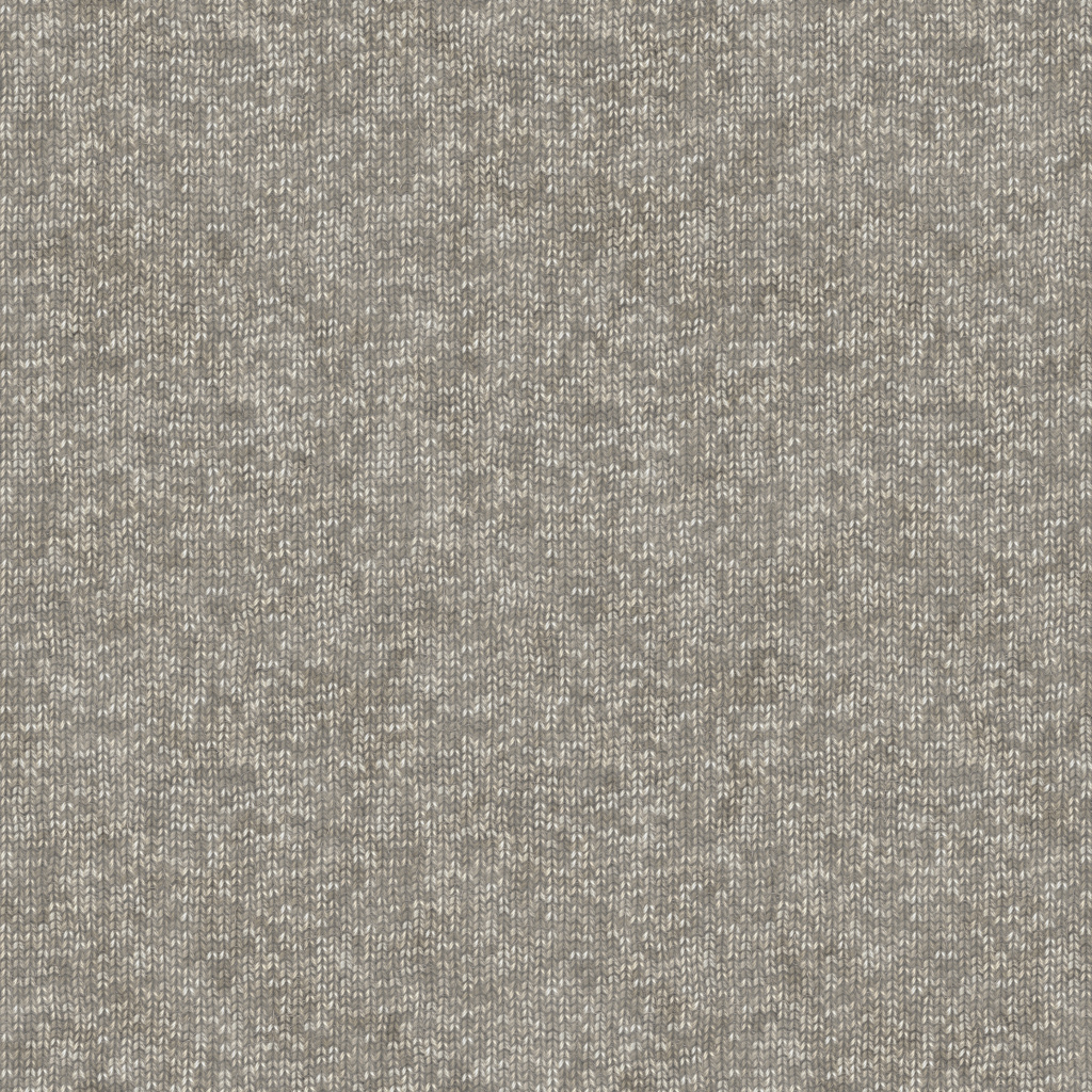 Knitted Wool Gray BaseColor Texture