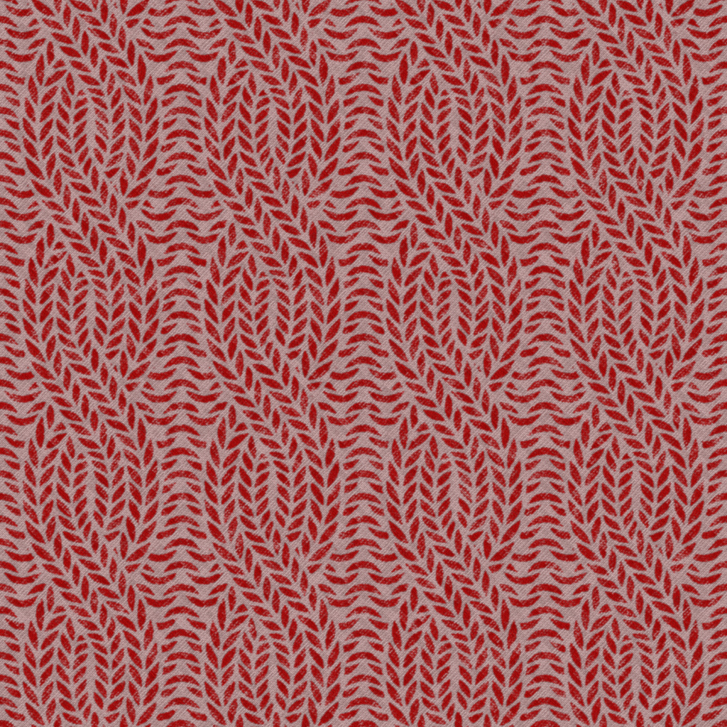 Floral Red Pattern BaseColor Texture