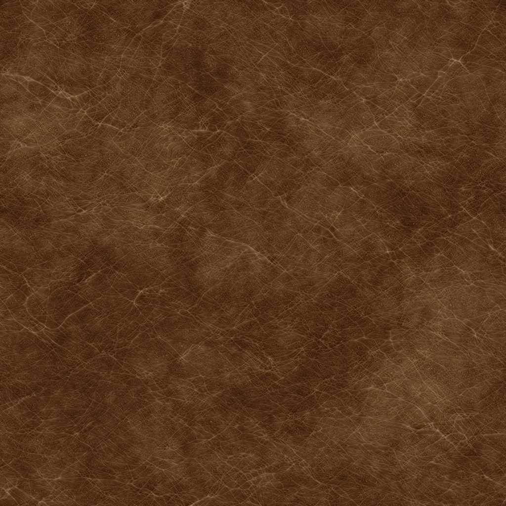Fine Bison Tanned Brown BaseColor Texture