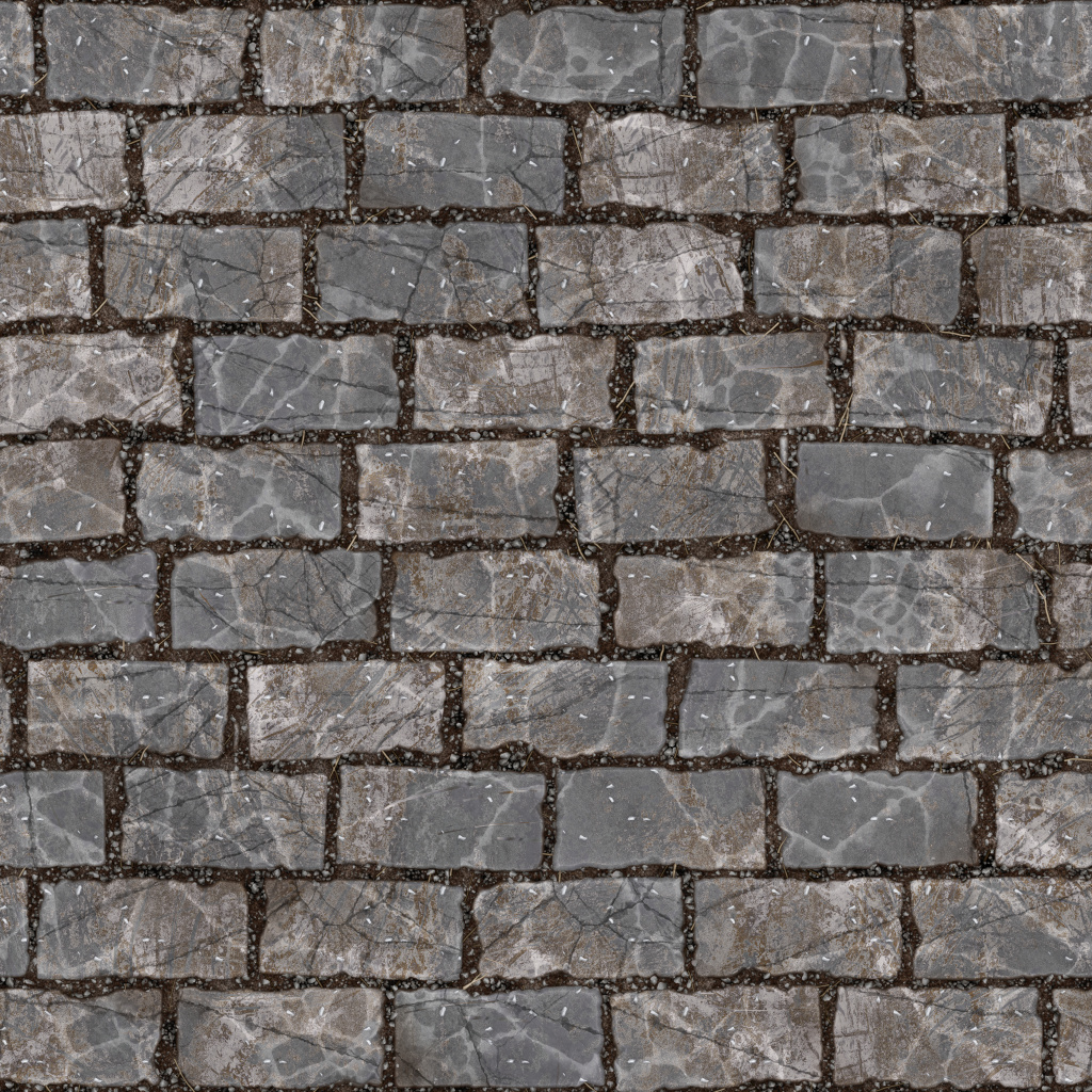 Running Stone Ground BaseColor Texture