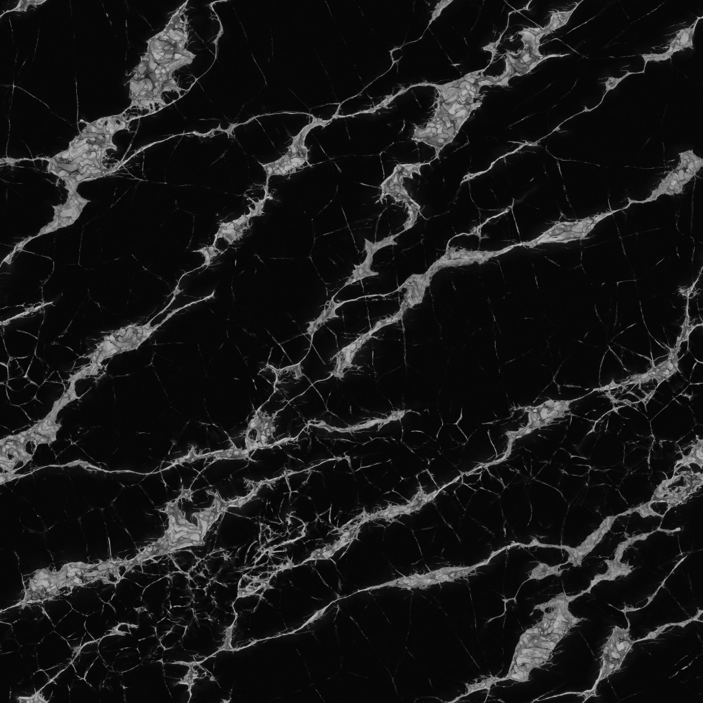 Black And White Marble Polished BaseColor Texture