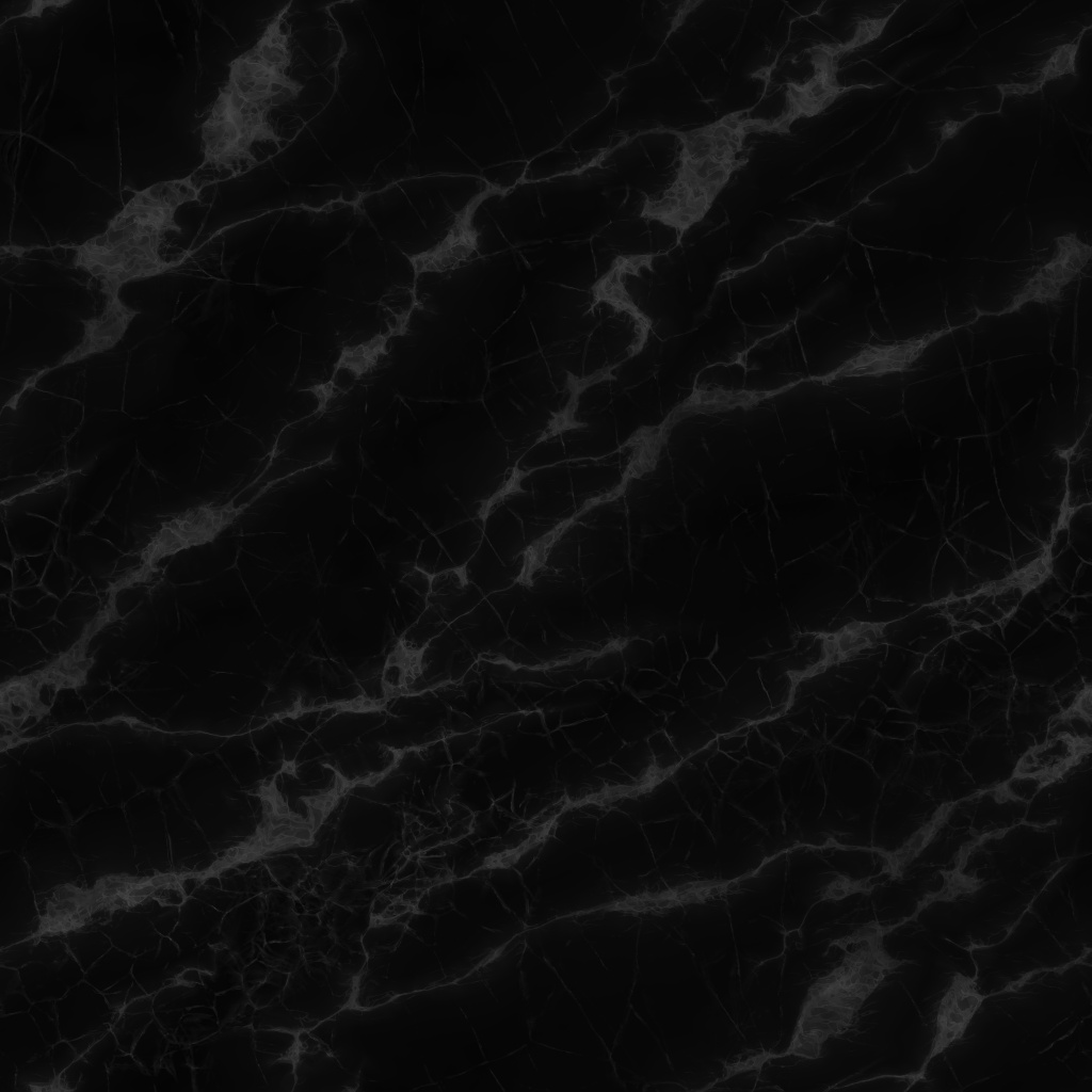 Black And White Marble Polished Roughness Texture