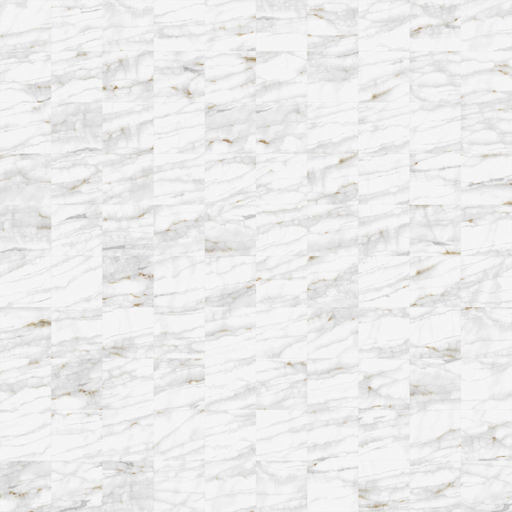 Calacatta Gold Long Veins Squared-20-20 BaseColor Texture