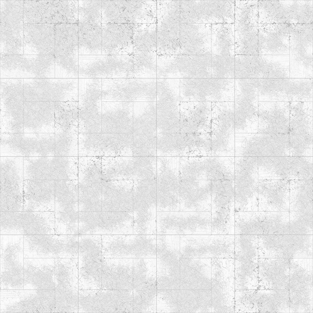 Oak English Antiqued Alternate Ambient Occlusion Texture