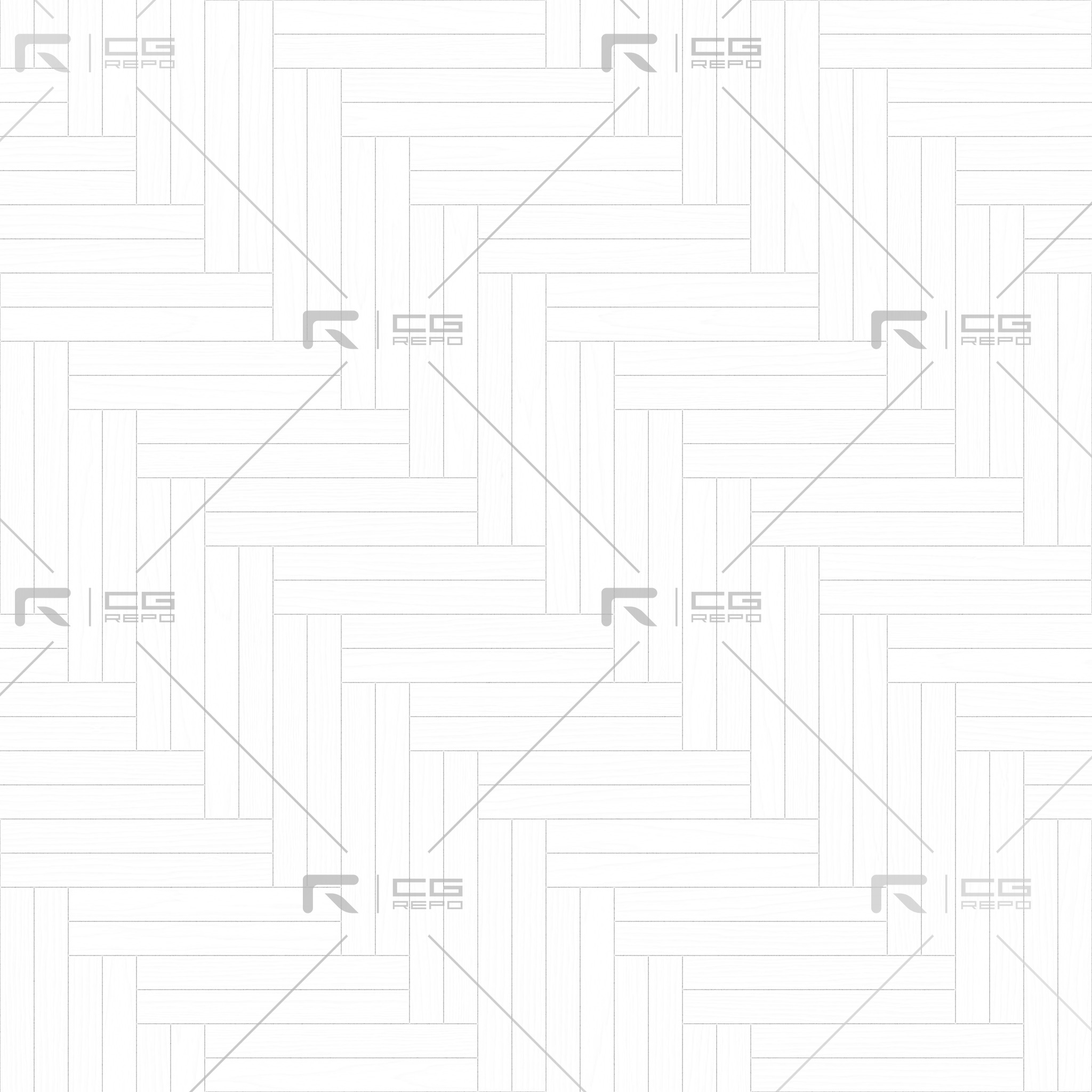 Oak English Antiqued Double Herringbone Ambient Occlusion Texture