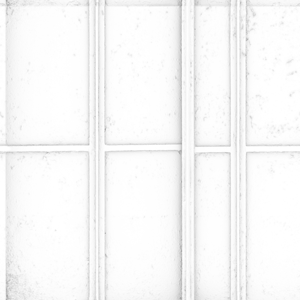 Paint and Rust Metal Panels Ambient Occlusion Texture