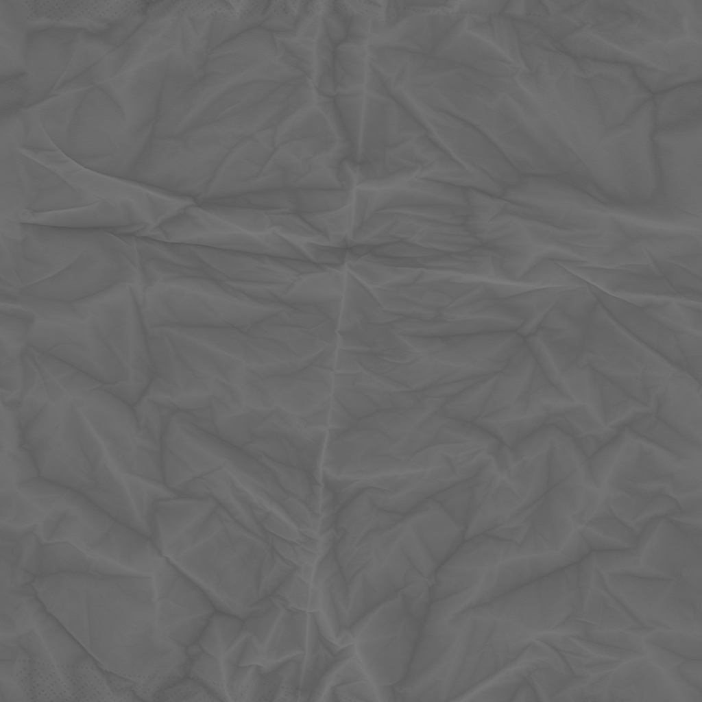 Paper Tissue Roughness Texture